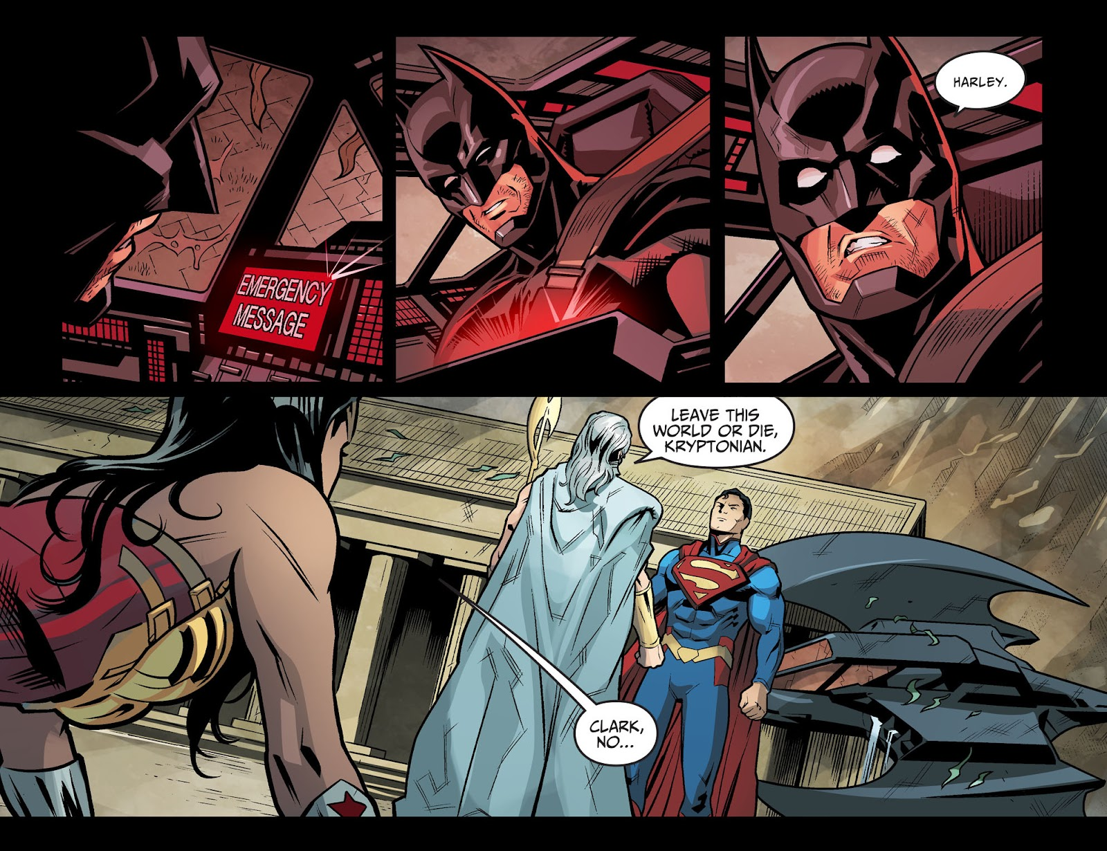 Injustice: Gods Among Us Year Four Issue #20 #21 - English 19