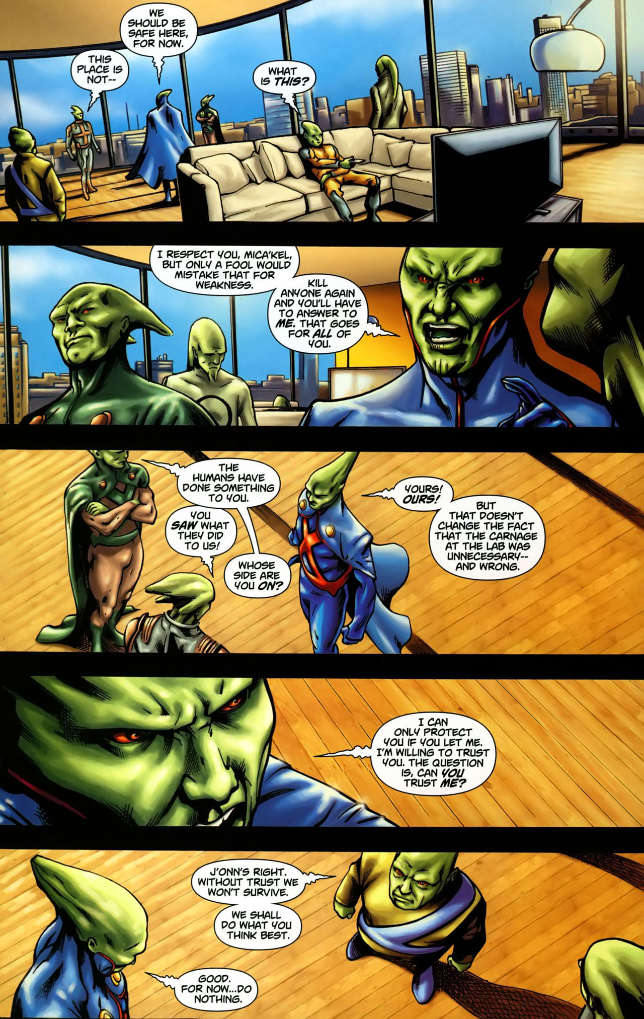 Read online Martian Manhunter (2006) comic -  Issue #3 - 3