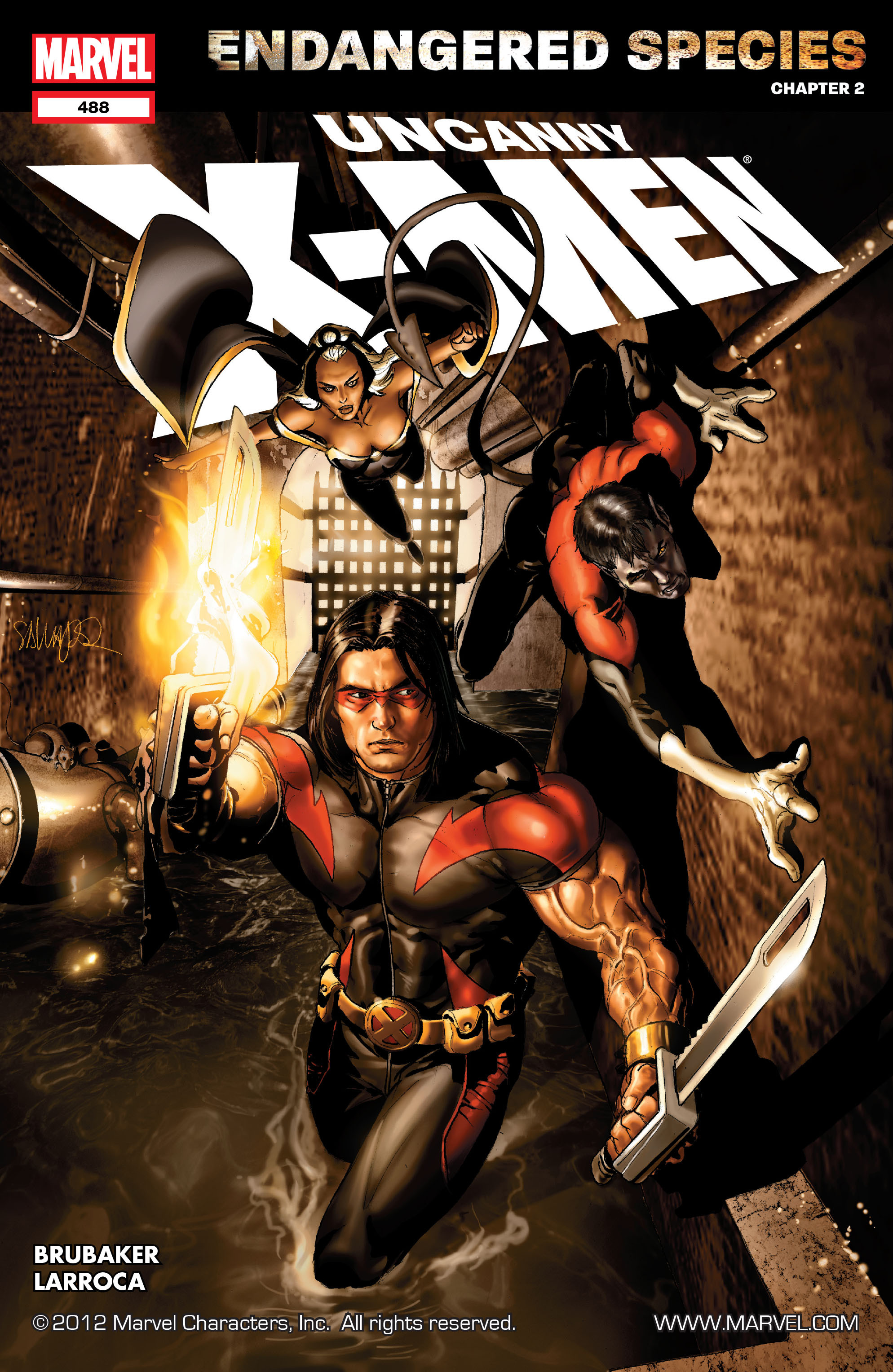 Uncanny X-Men (1963) 488 Page 1
