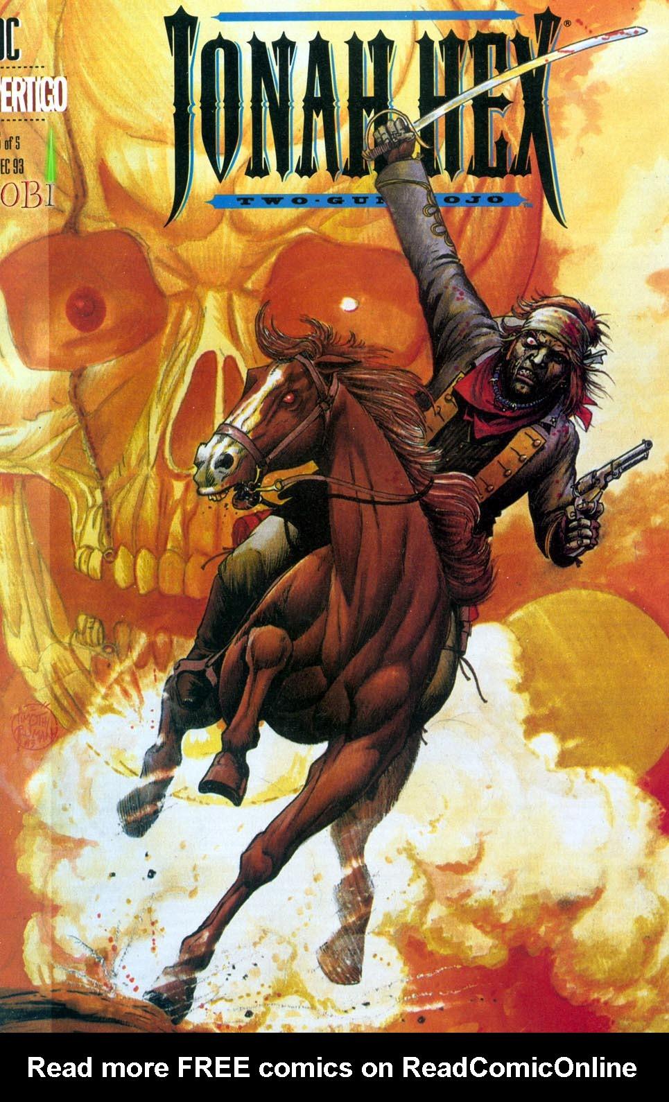 Jonah Hex: Two-Gun Mojo Issue #5 #5 - English 1