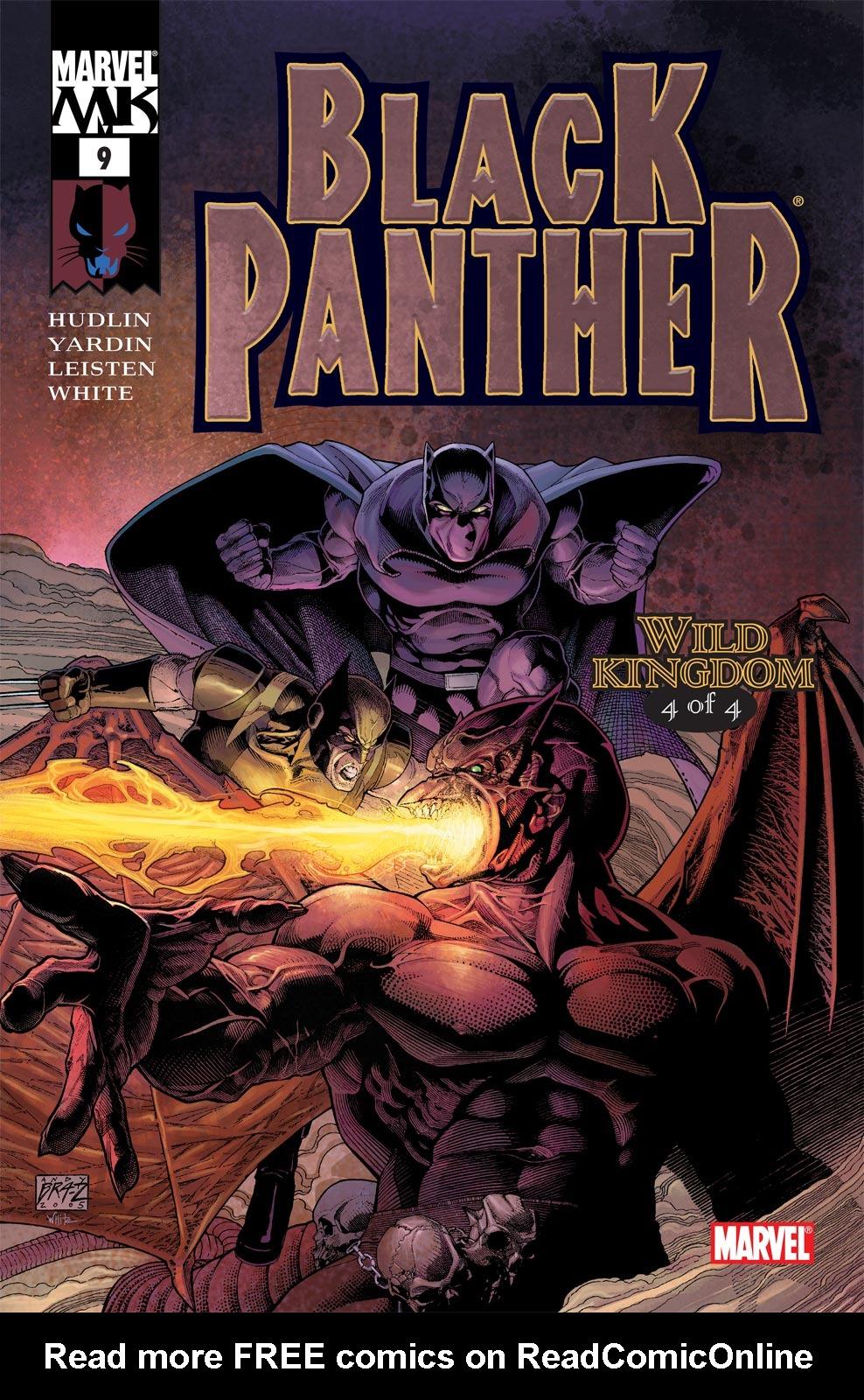 Black Panther (2005) 9 Page 1