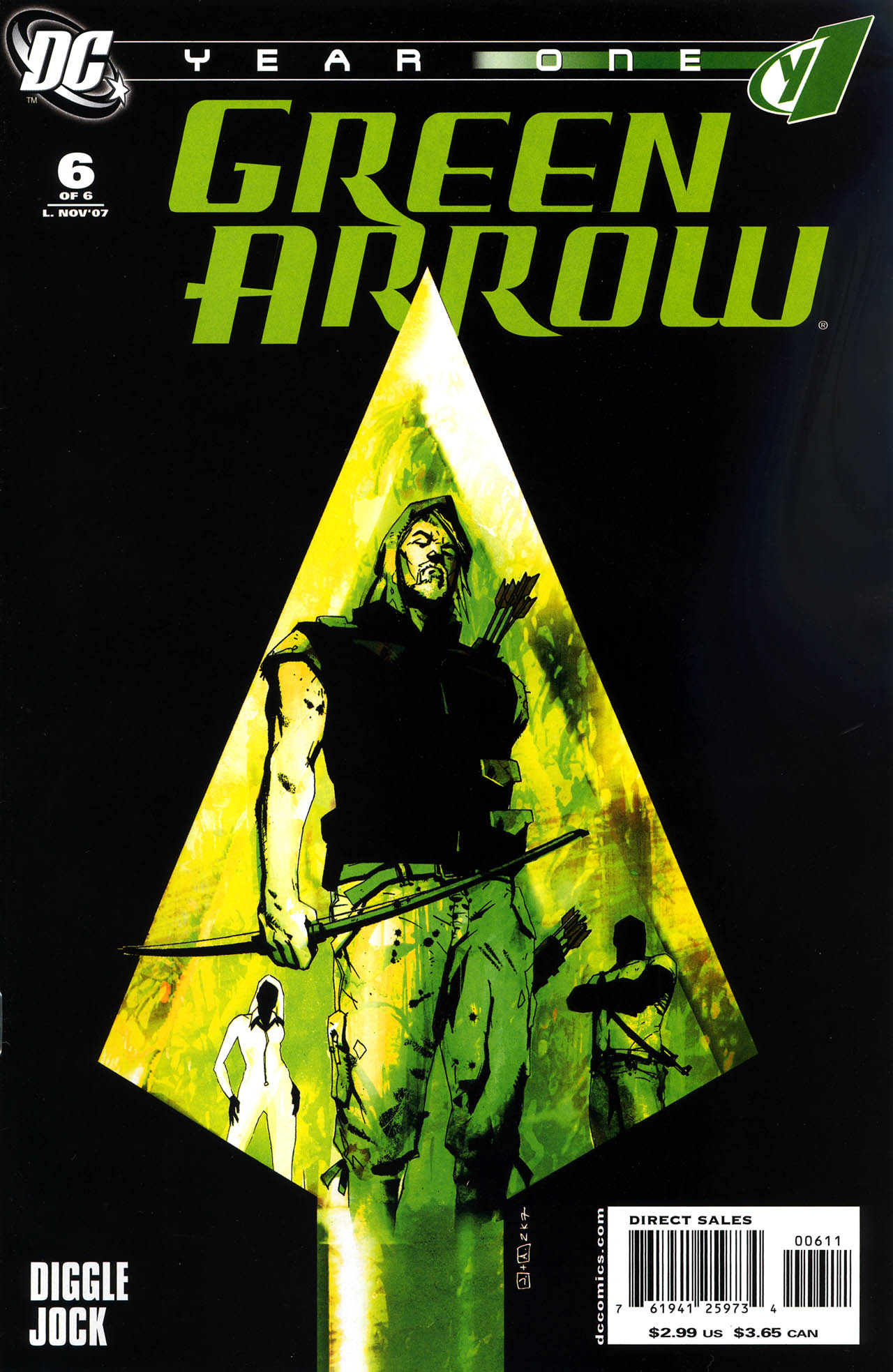 Green Arrow: Year One 6 Page 1