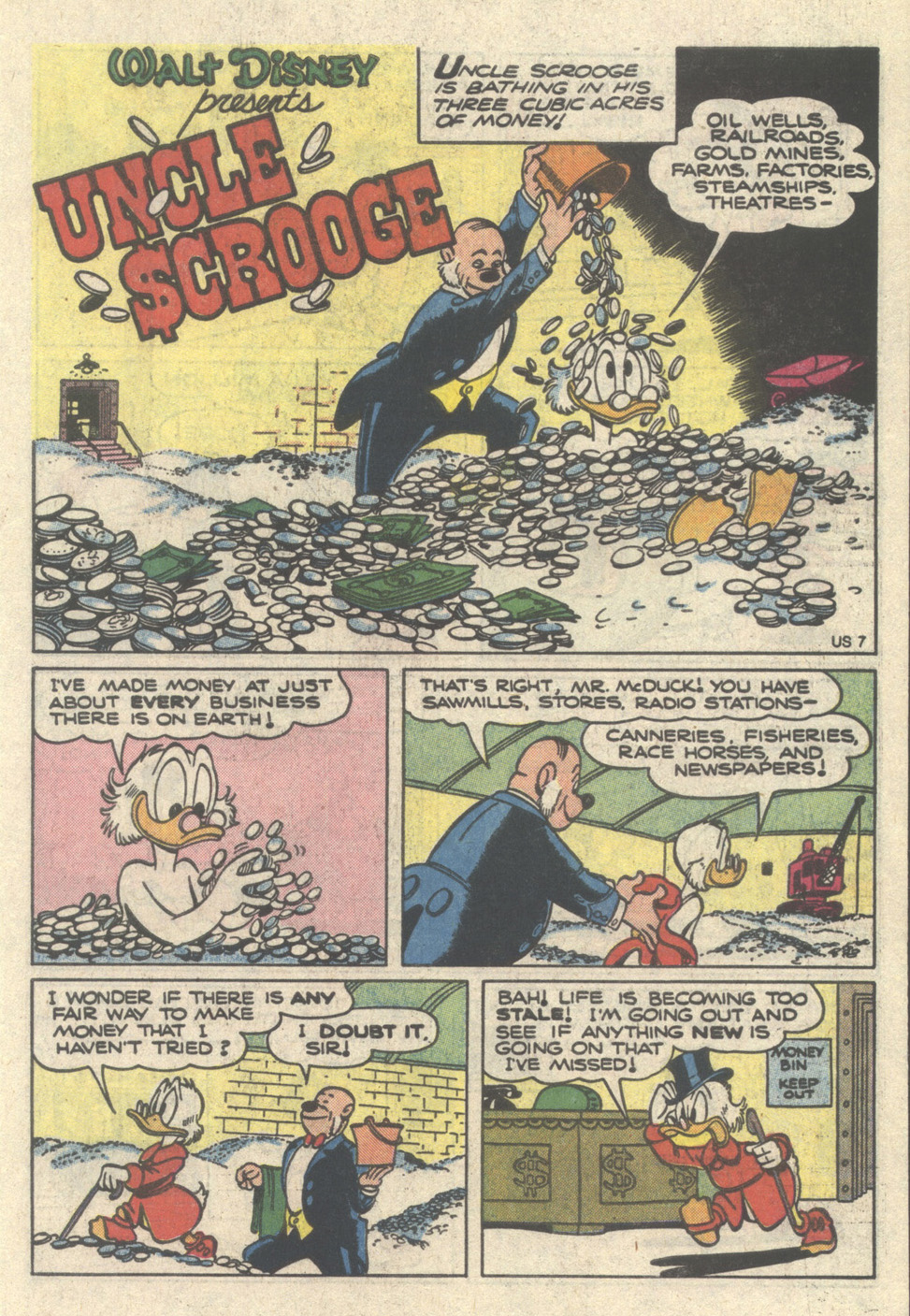 Uncle Scrooge (1953) Issue #217 #217 - English 3