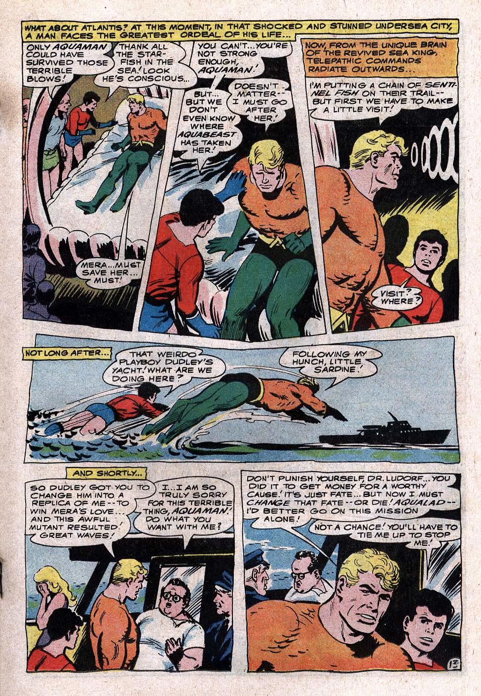 Aquaman (1962) Issue #34 #34 - English 19