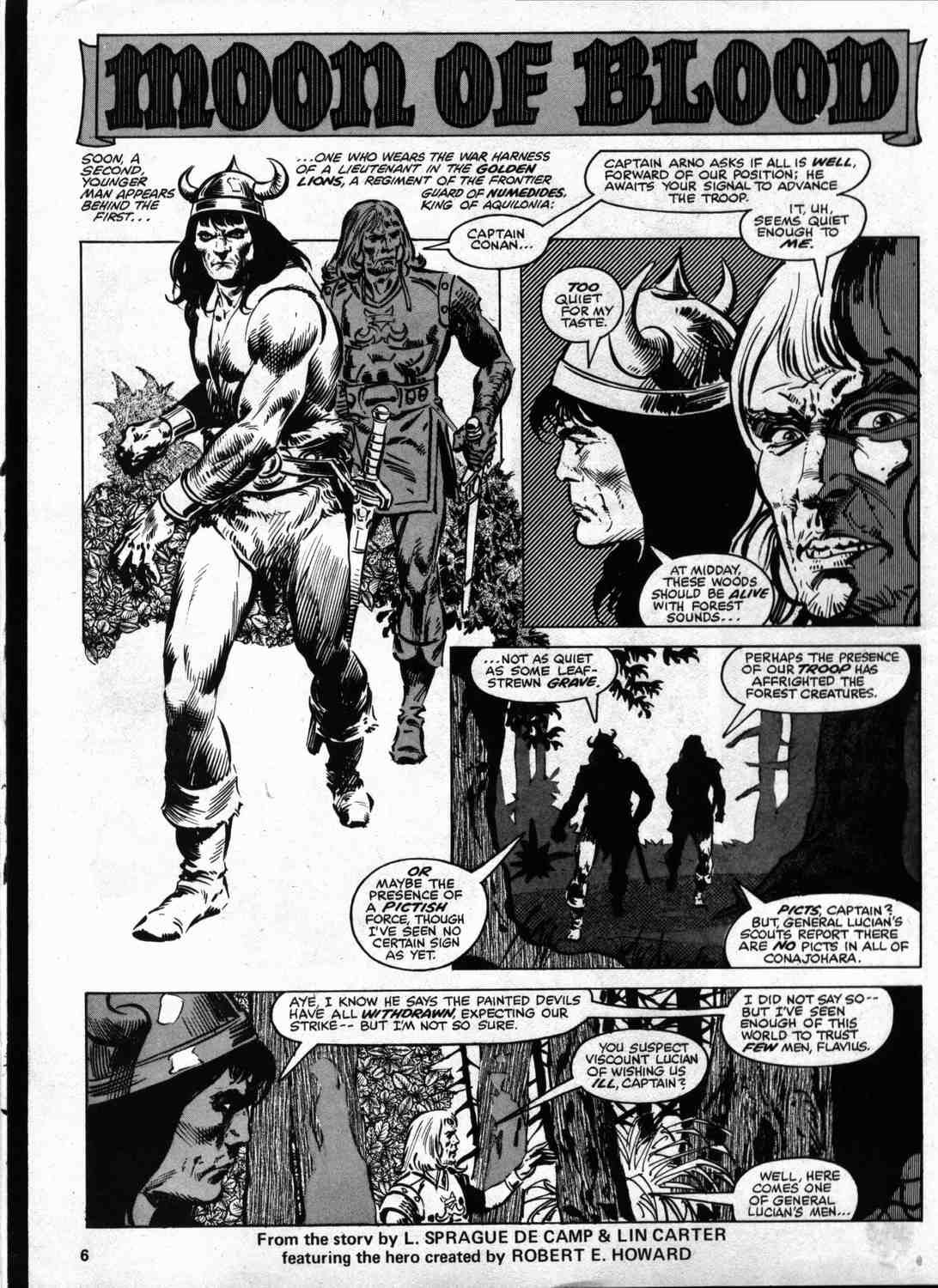 The Savage Sword Of Conan Issue #46 #47 - English 5