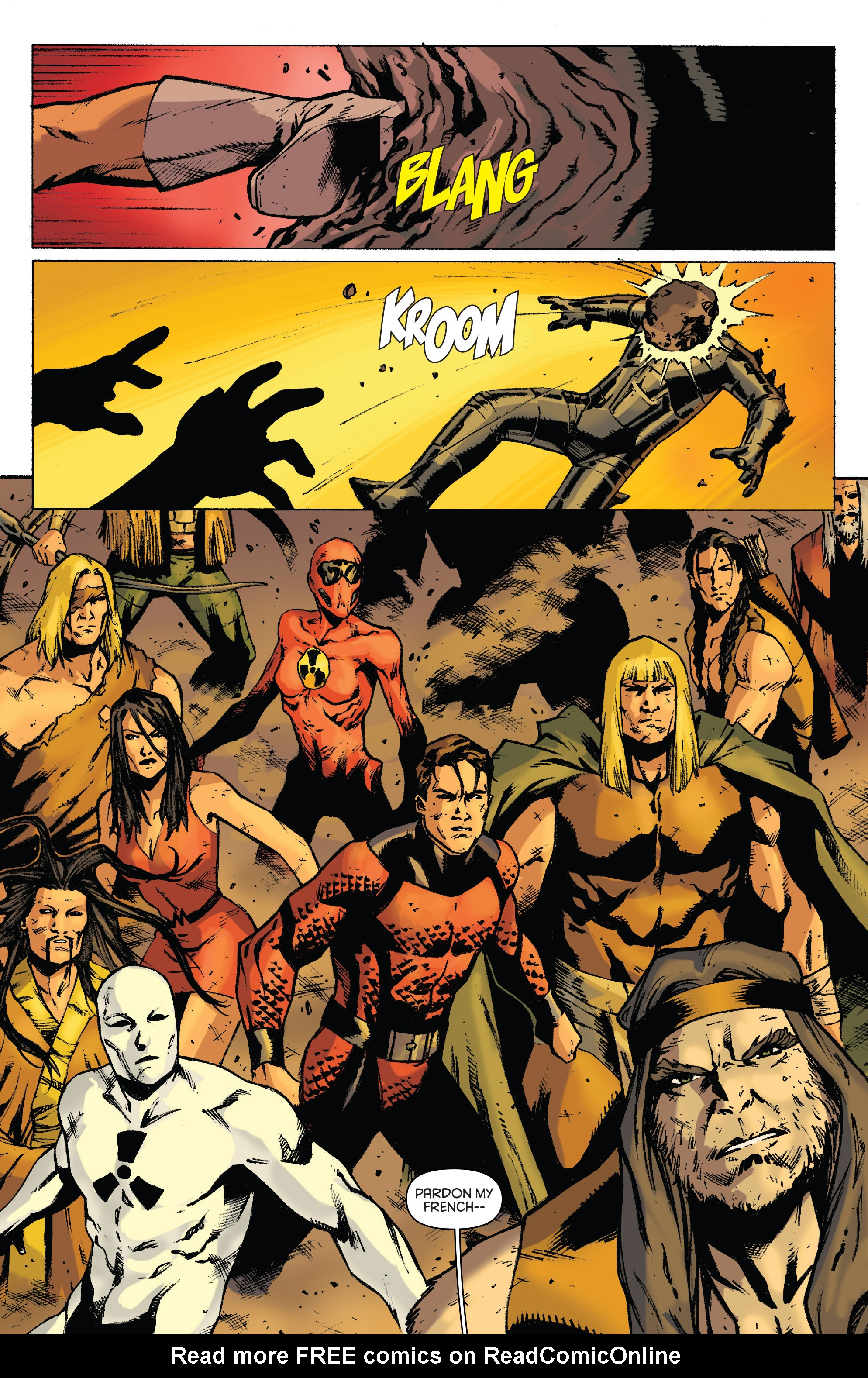 Read online Gold Key: Alliance comic -  Issue #4 - 23