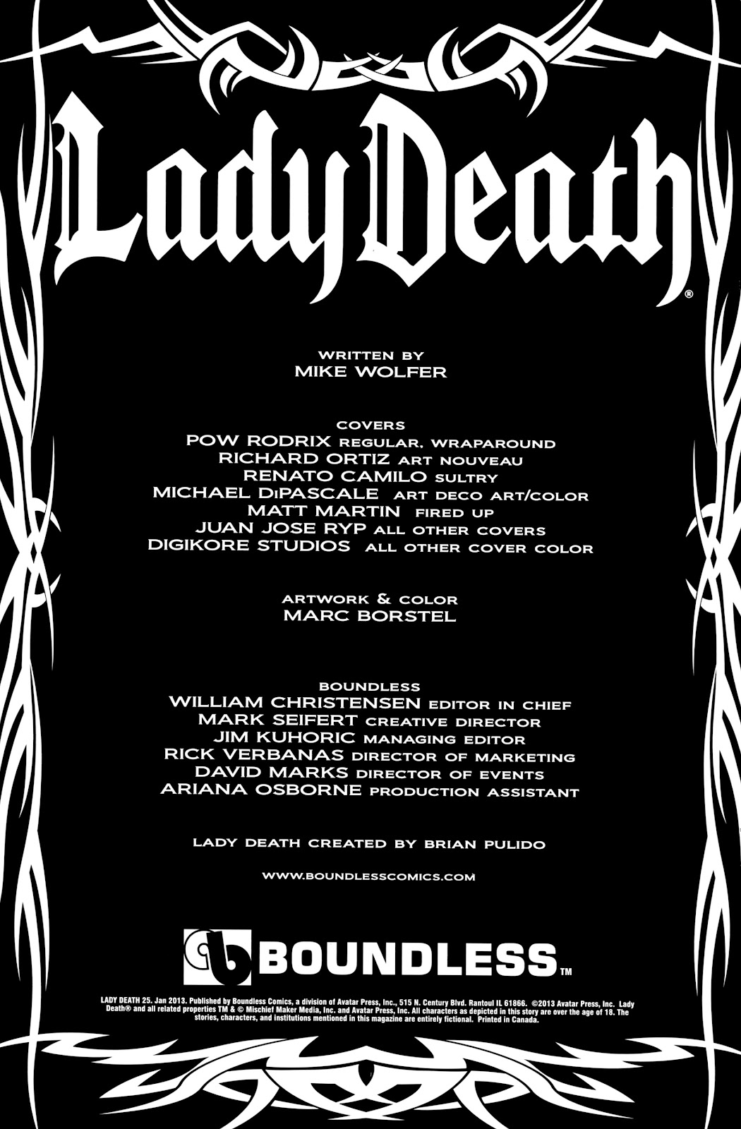 Lady Death (2010) Issue #25 #28 - English 2