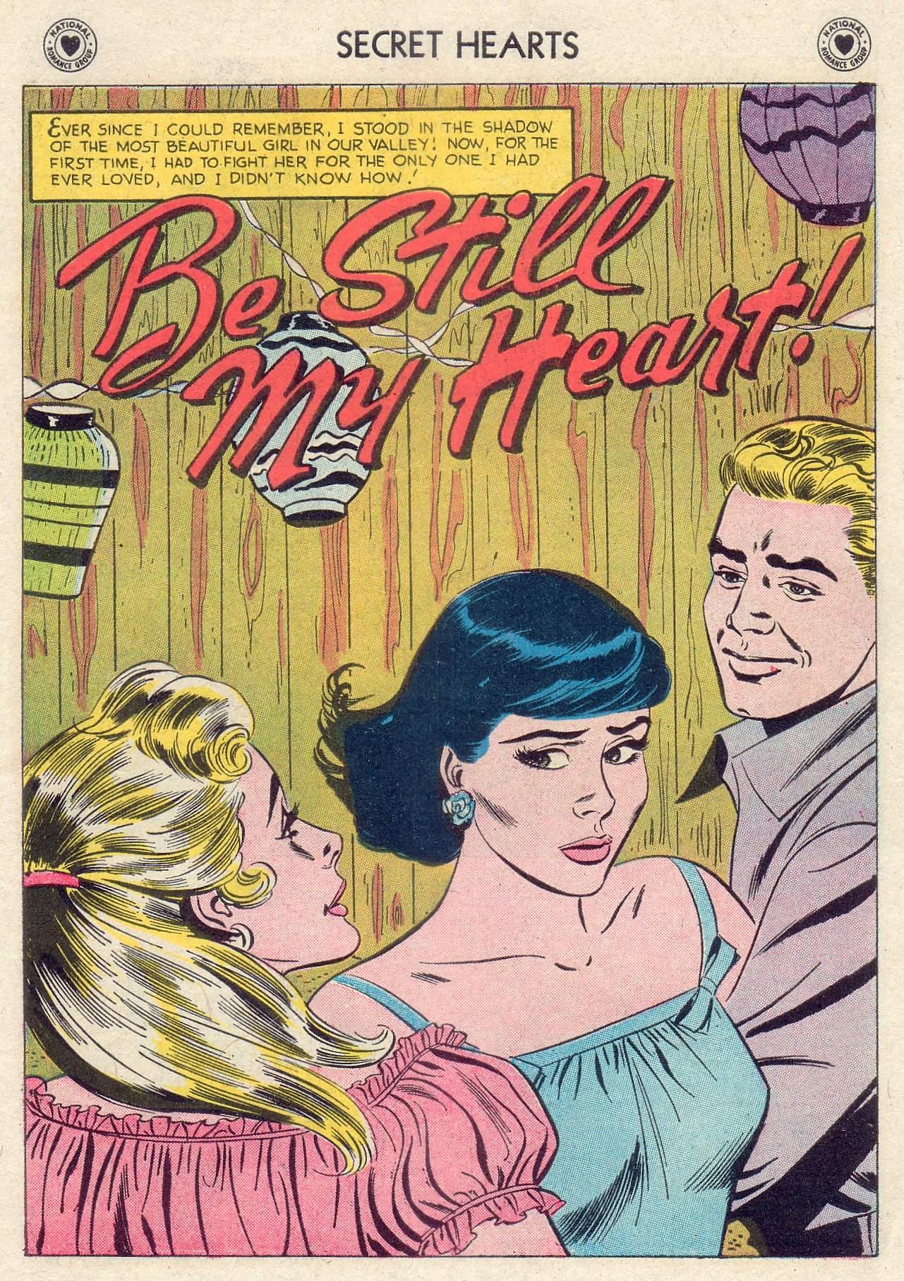 Read online Secret Hearts comic -  Issue #46 - 27