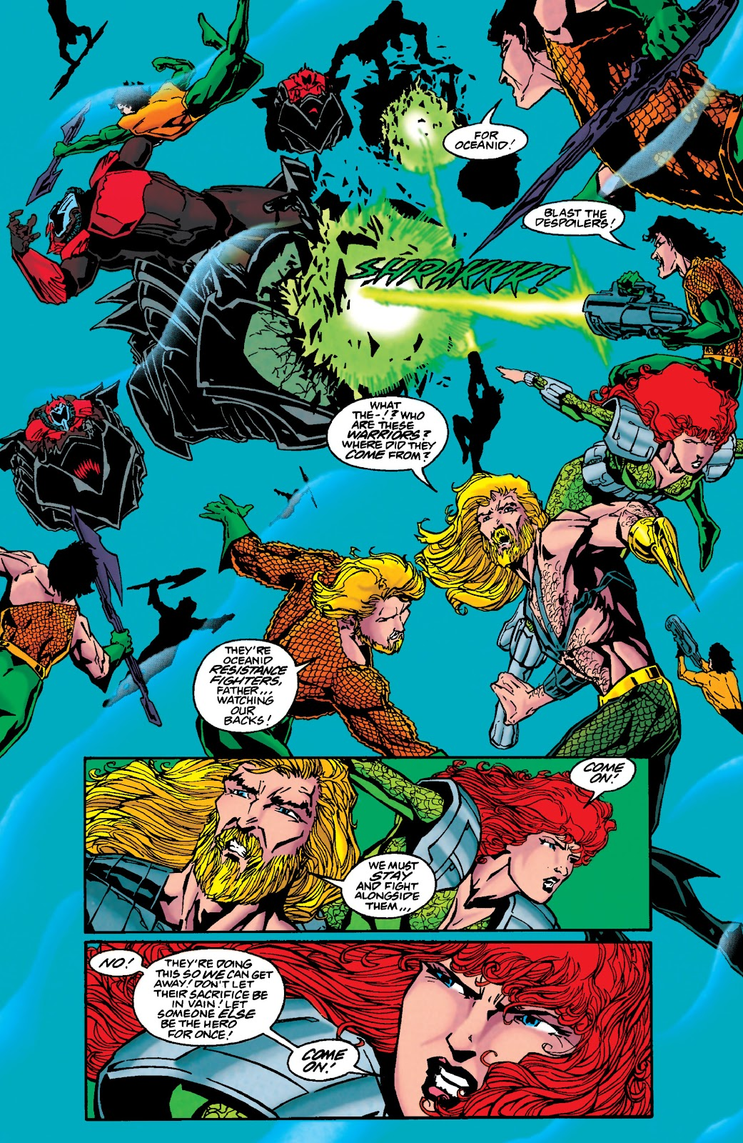 Aquaman (1994) Issue #48 #54 - English 7