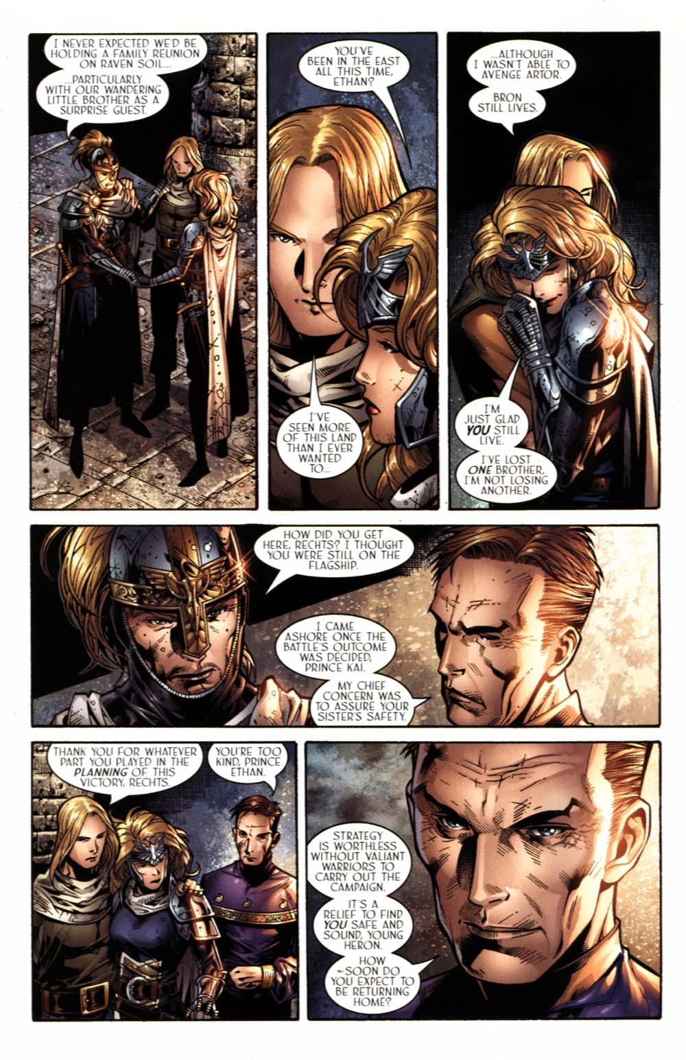 Read online Scion comic -  Issue #18 - 23