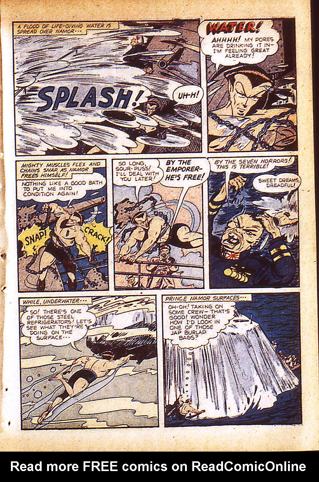 Sub-Mariner Comics Issue #9 #9 - English 12