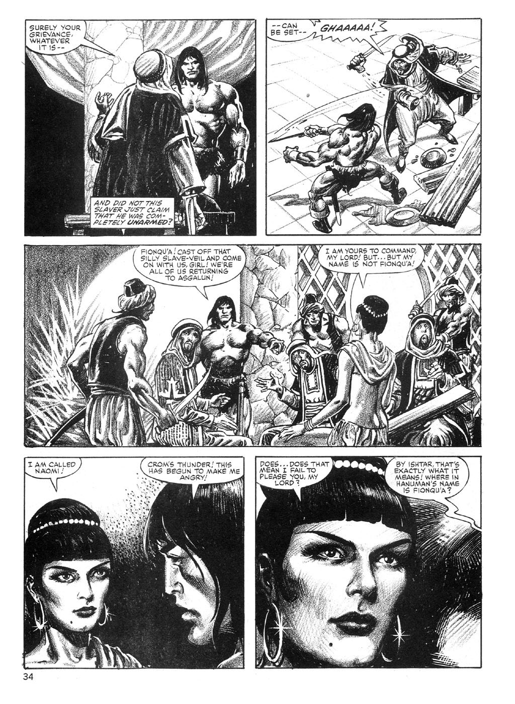 The Savage Sword Of Conan Issue #89 #90 - English 34