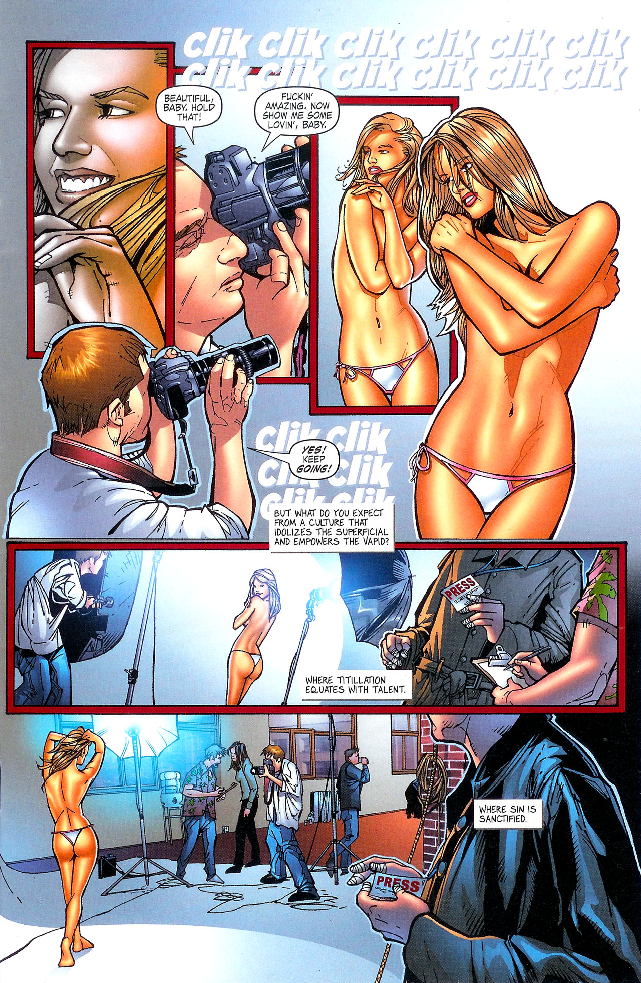 Read online Se7en comic -  Issue #5 - 5