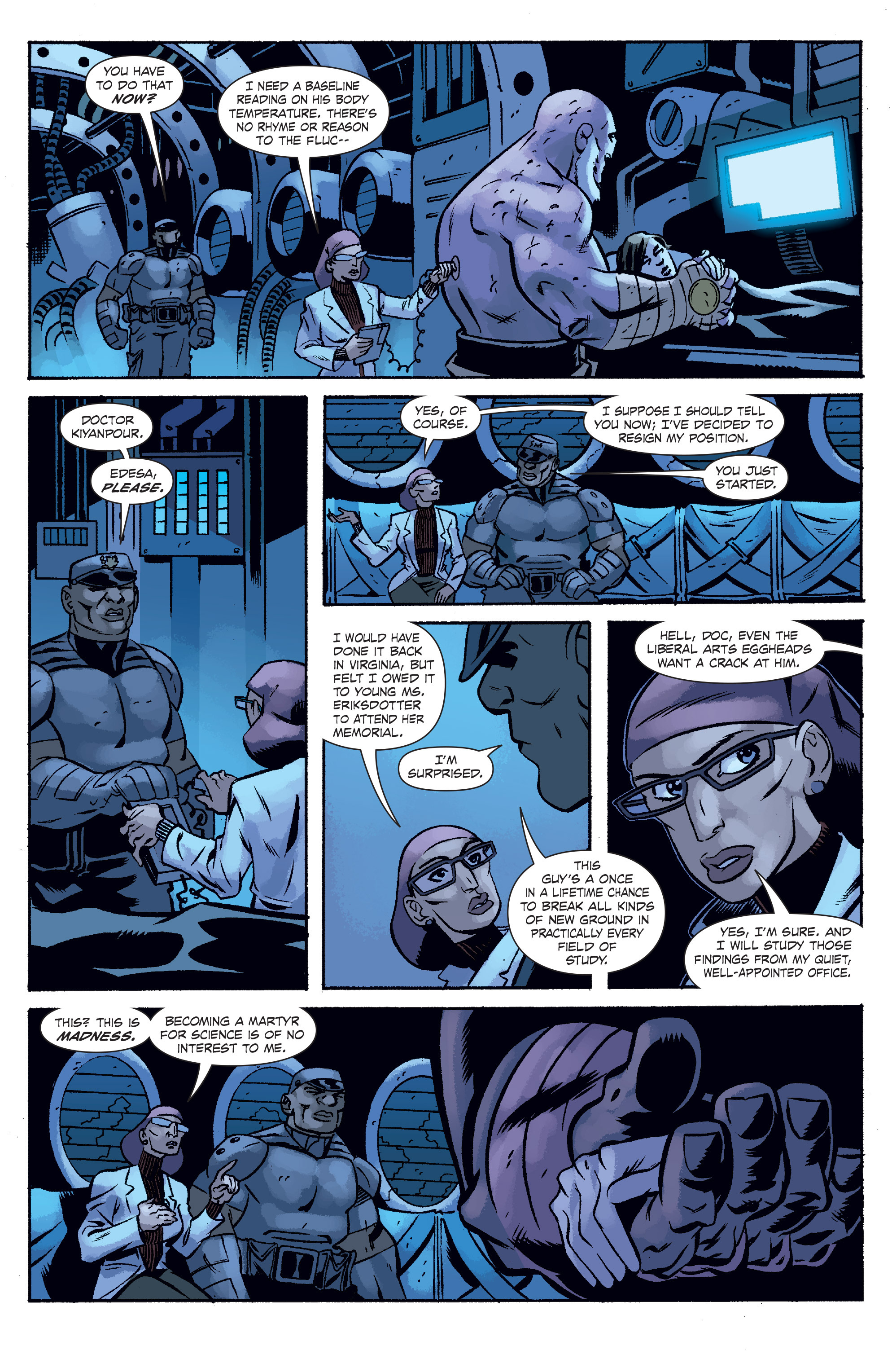 Read online The Anchor comic -  Issue # TPB 2 - 56