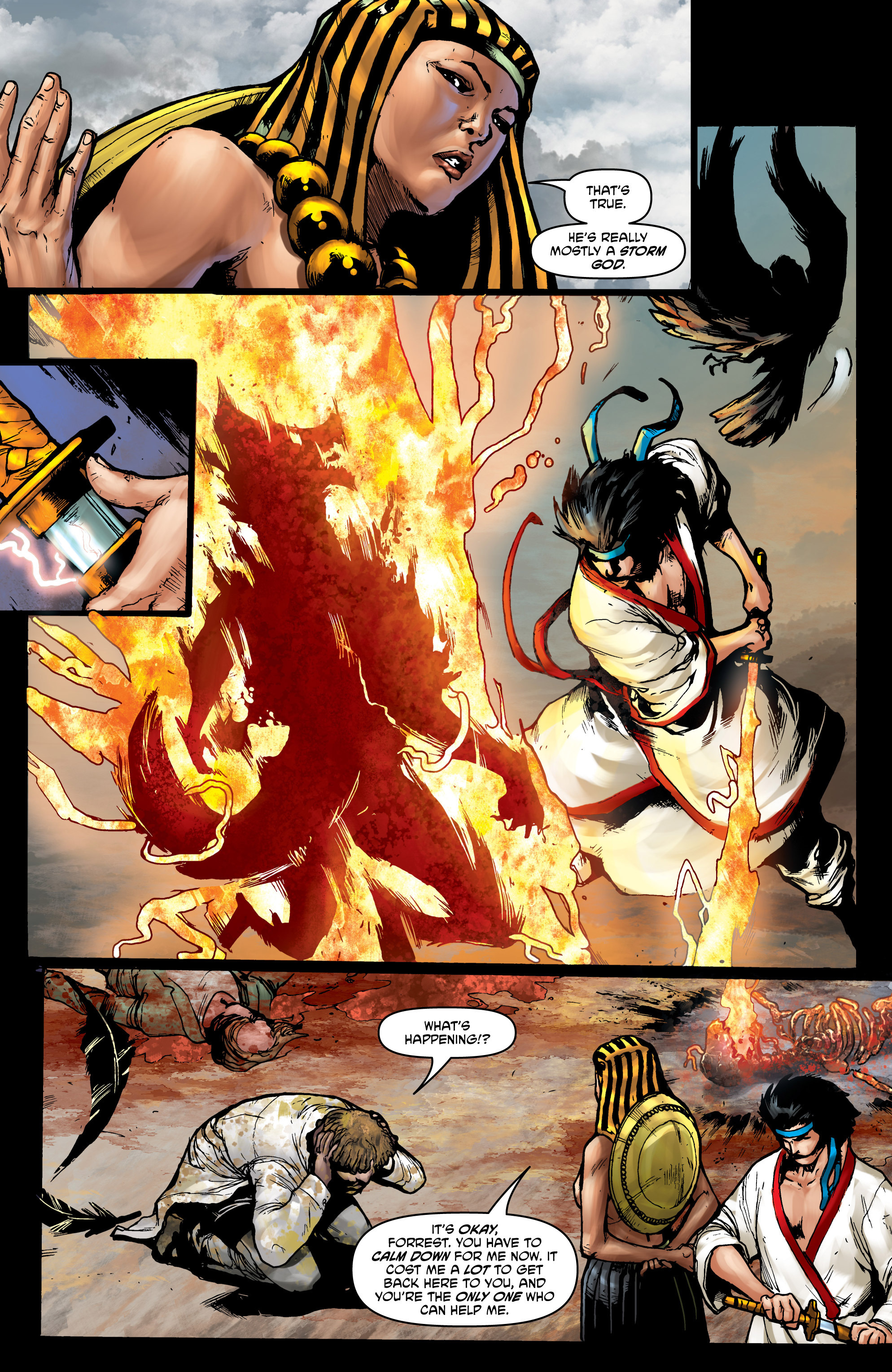 Read online God Is Dead comic -  Issue #44 - 6