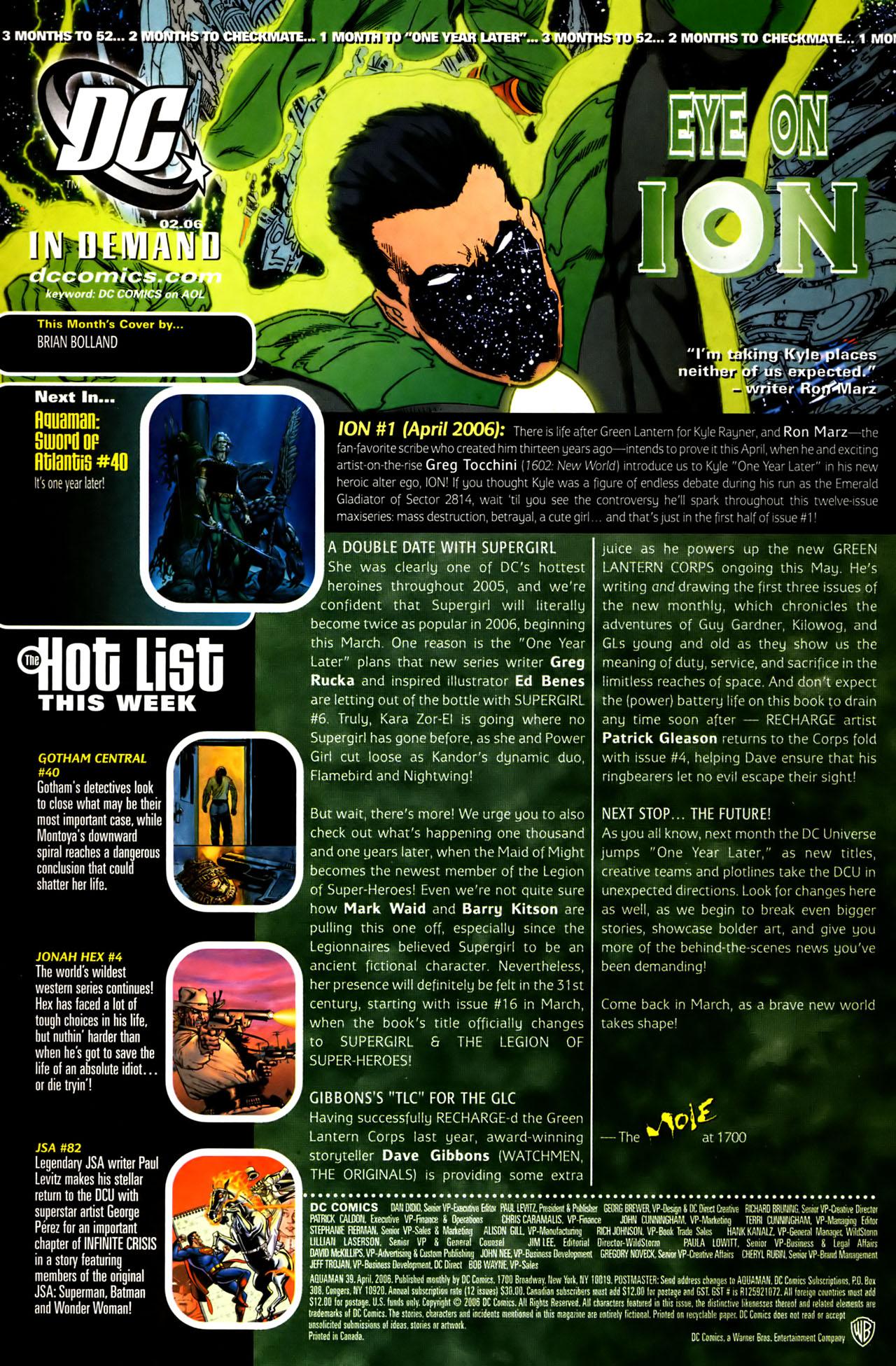 Read online Aquaman (2003) comic -  Issue #39 - 24