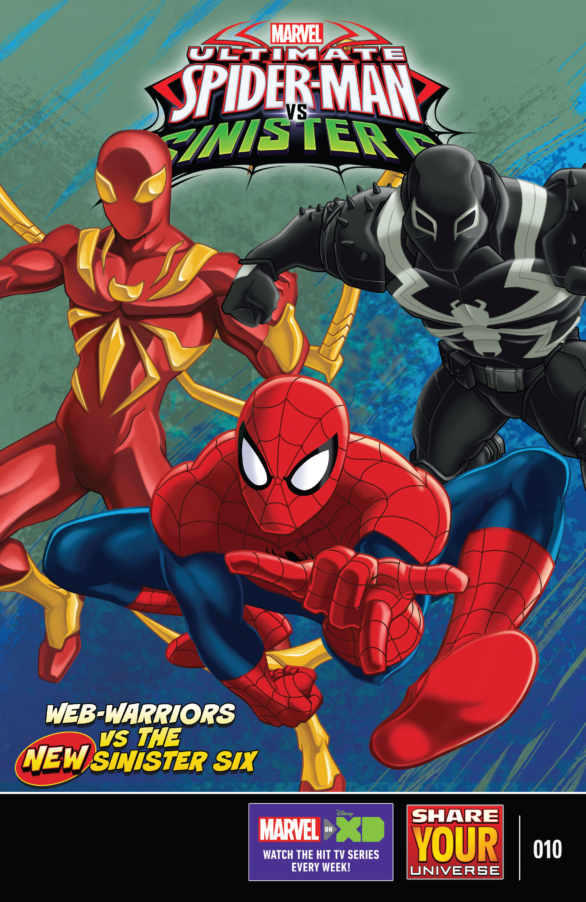 marvel universe ultimate spider man vs the sinister six chapter 10 pic