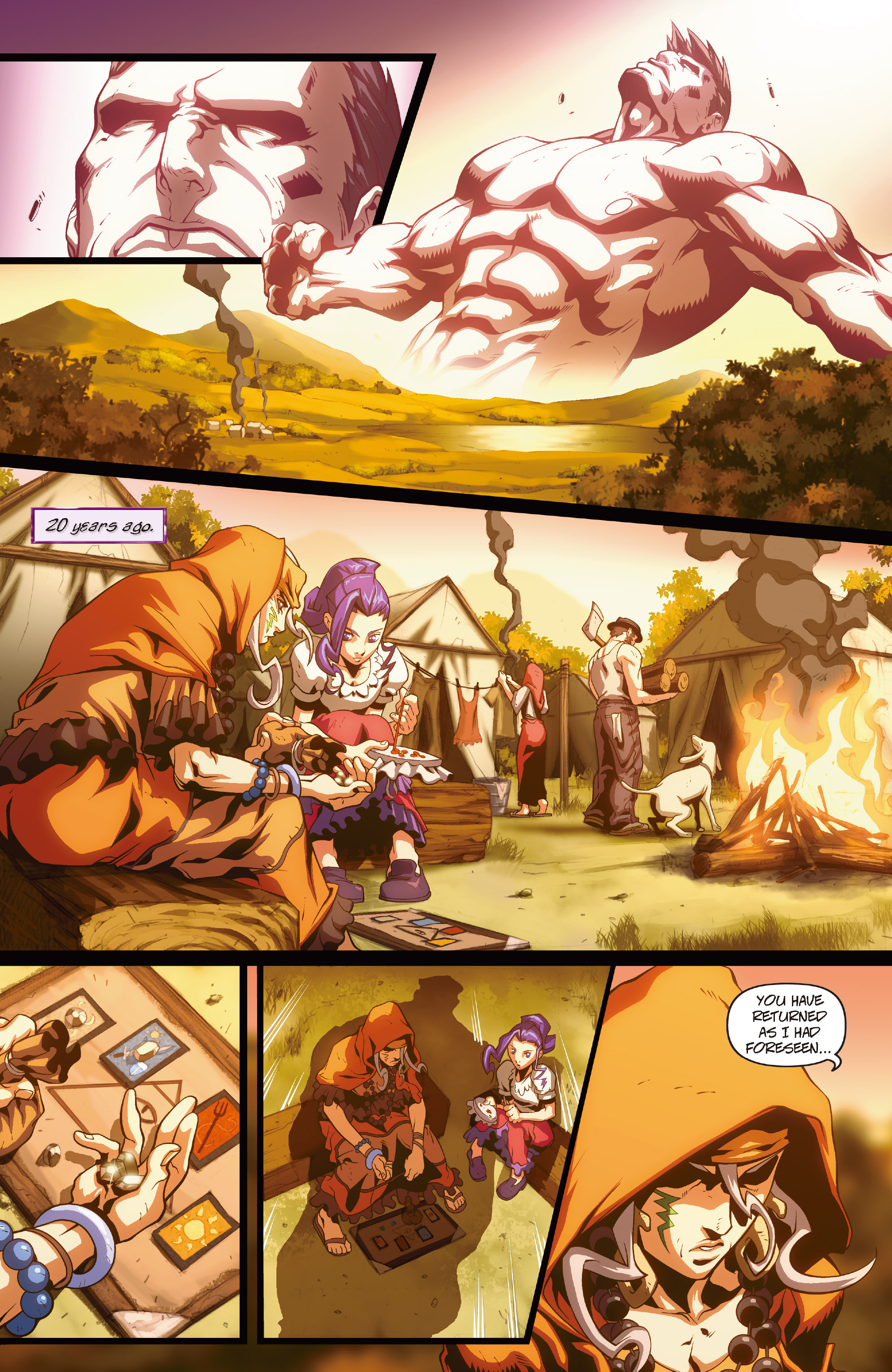 Street Fighter II chap 1 pic 15