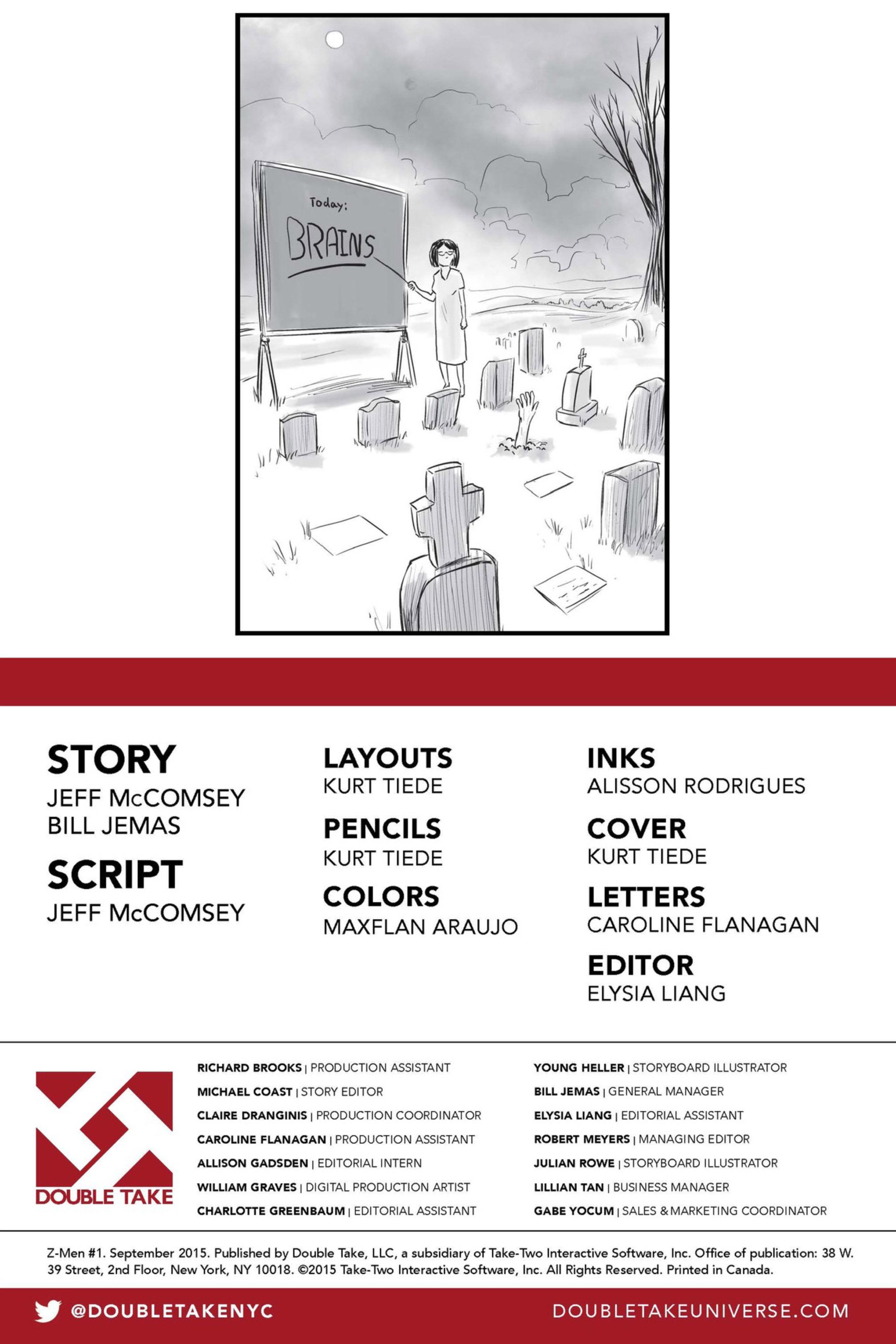 Read online Z-Men comic -  Issue #1 - 3