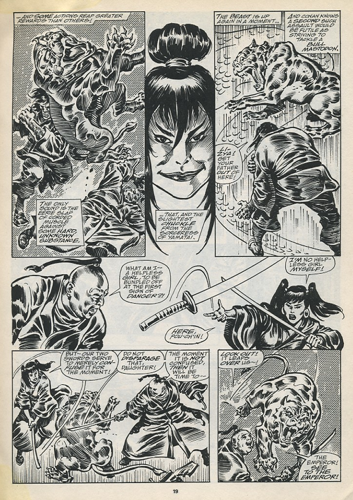 The Savage Sword Of Conan Issue #194 #195 - English 21