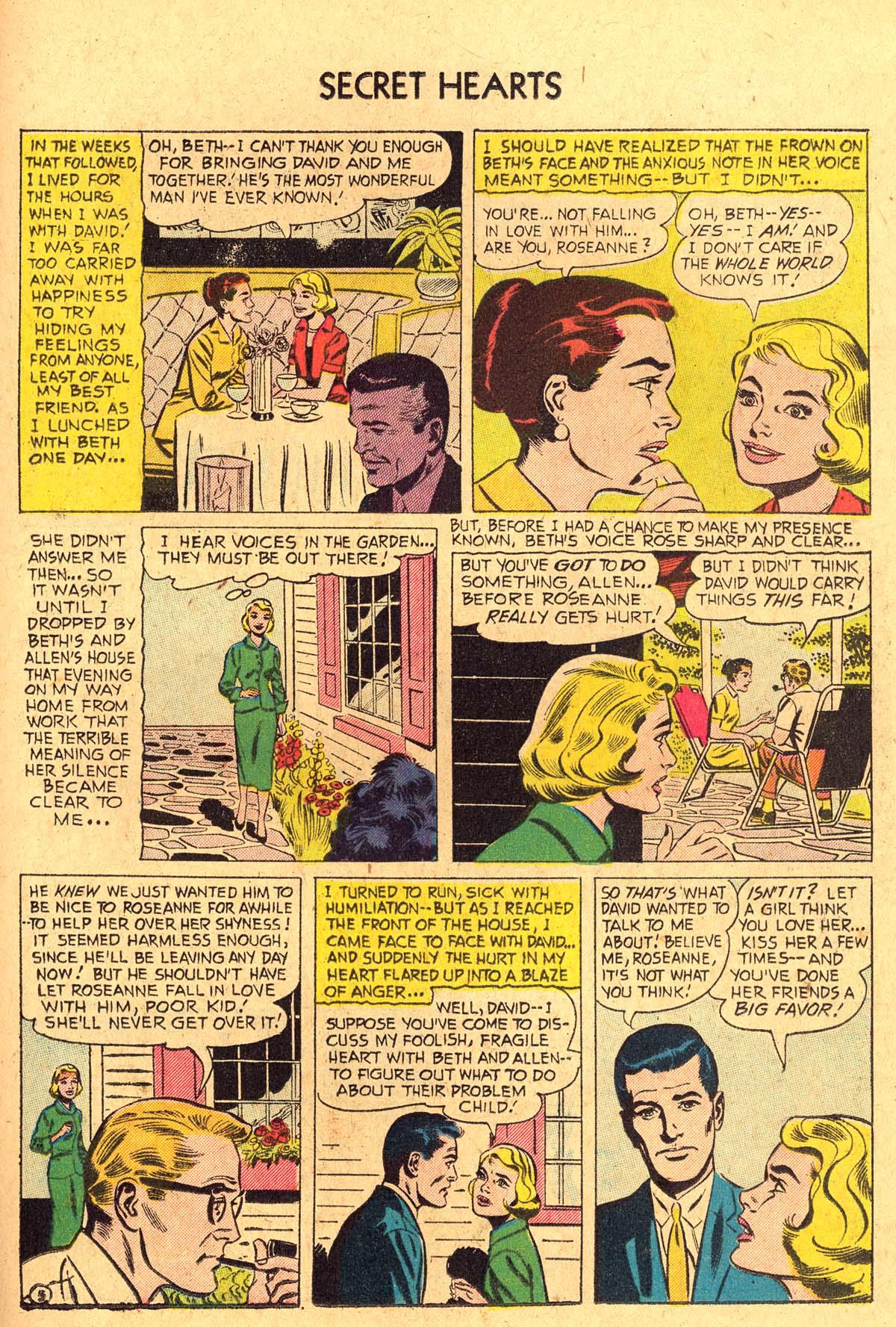 Read online Secret Hearts comic -  Issue #36 - 23