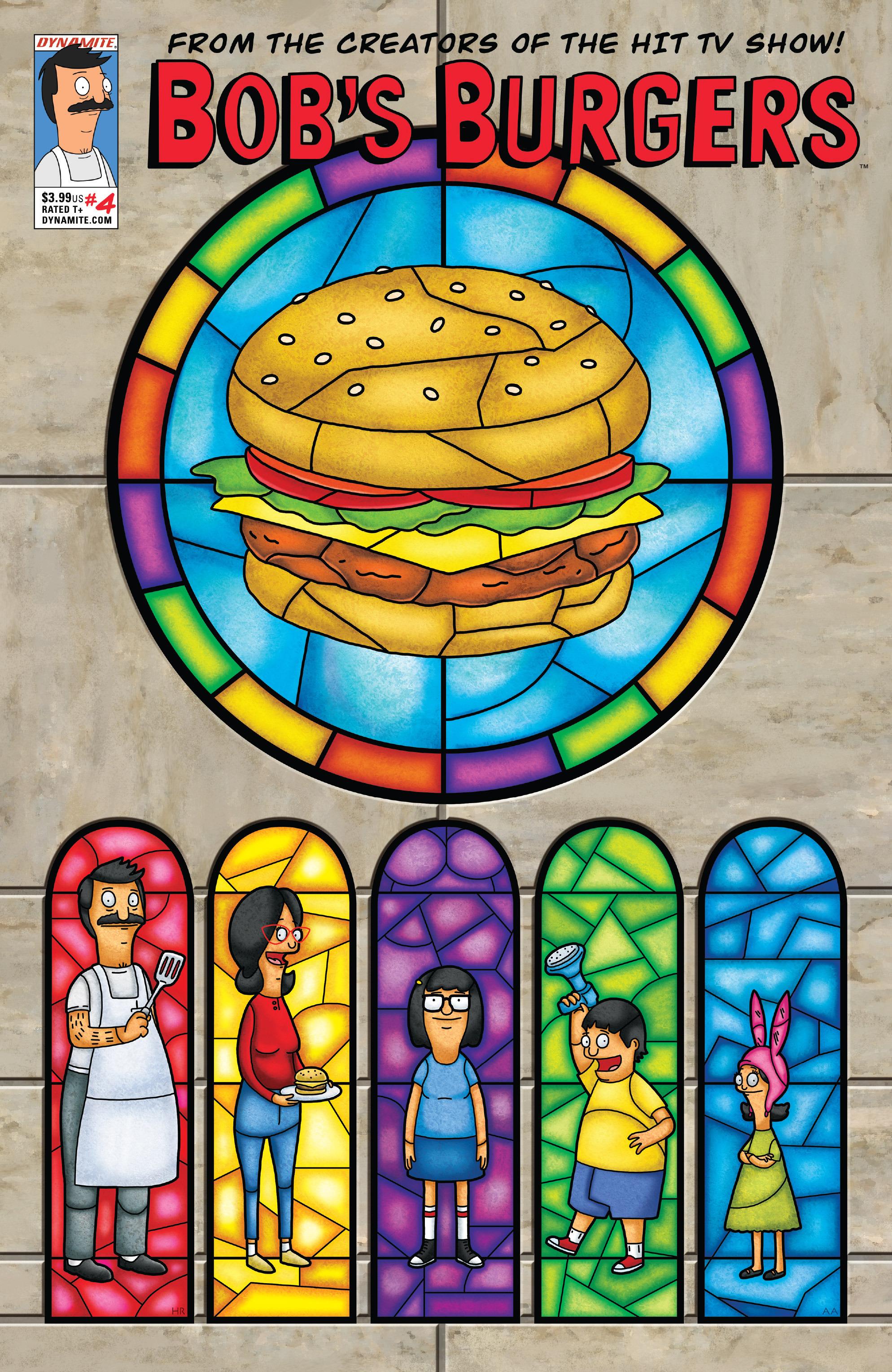 Read online Bob's Burgers (2014) comic -  Issue #4 - 1