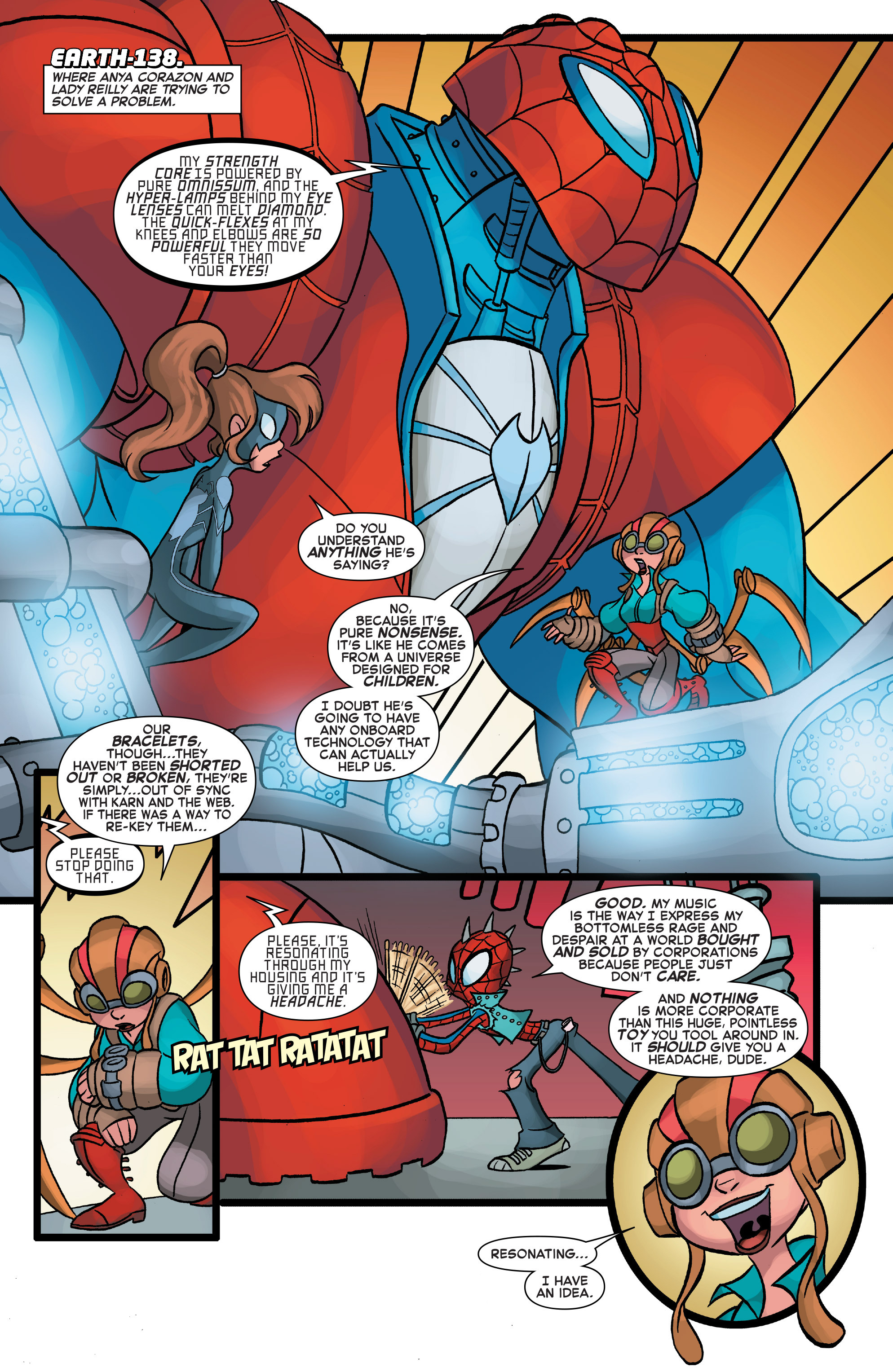 Read online Web Warriors comic -  Issue #10 - 10