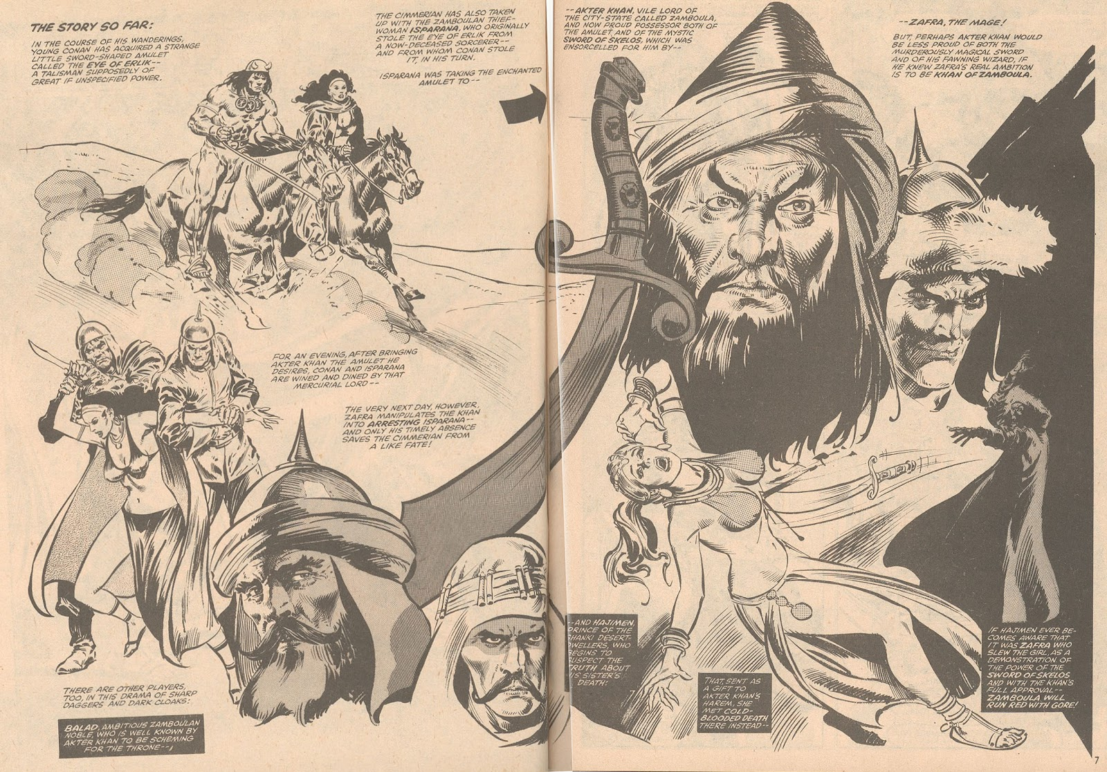 The Savage Sword Of Conan Issue #58 #59 - English 6