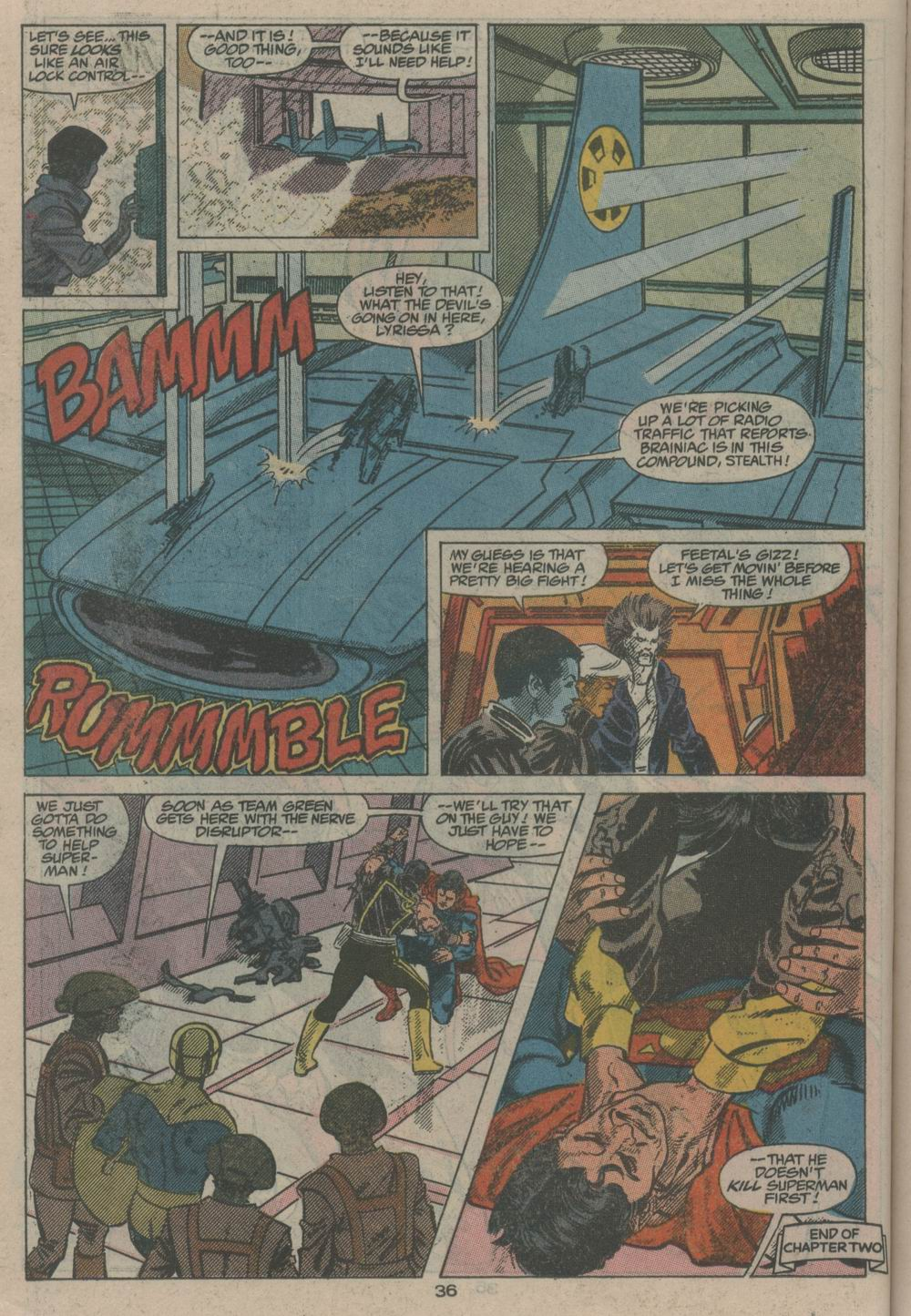 Adventures of Superman (1987) _Annual_2 Page 35