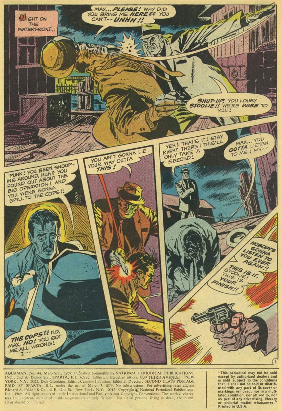 Aquaman (1962) Issue #44 #44 - English 3