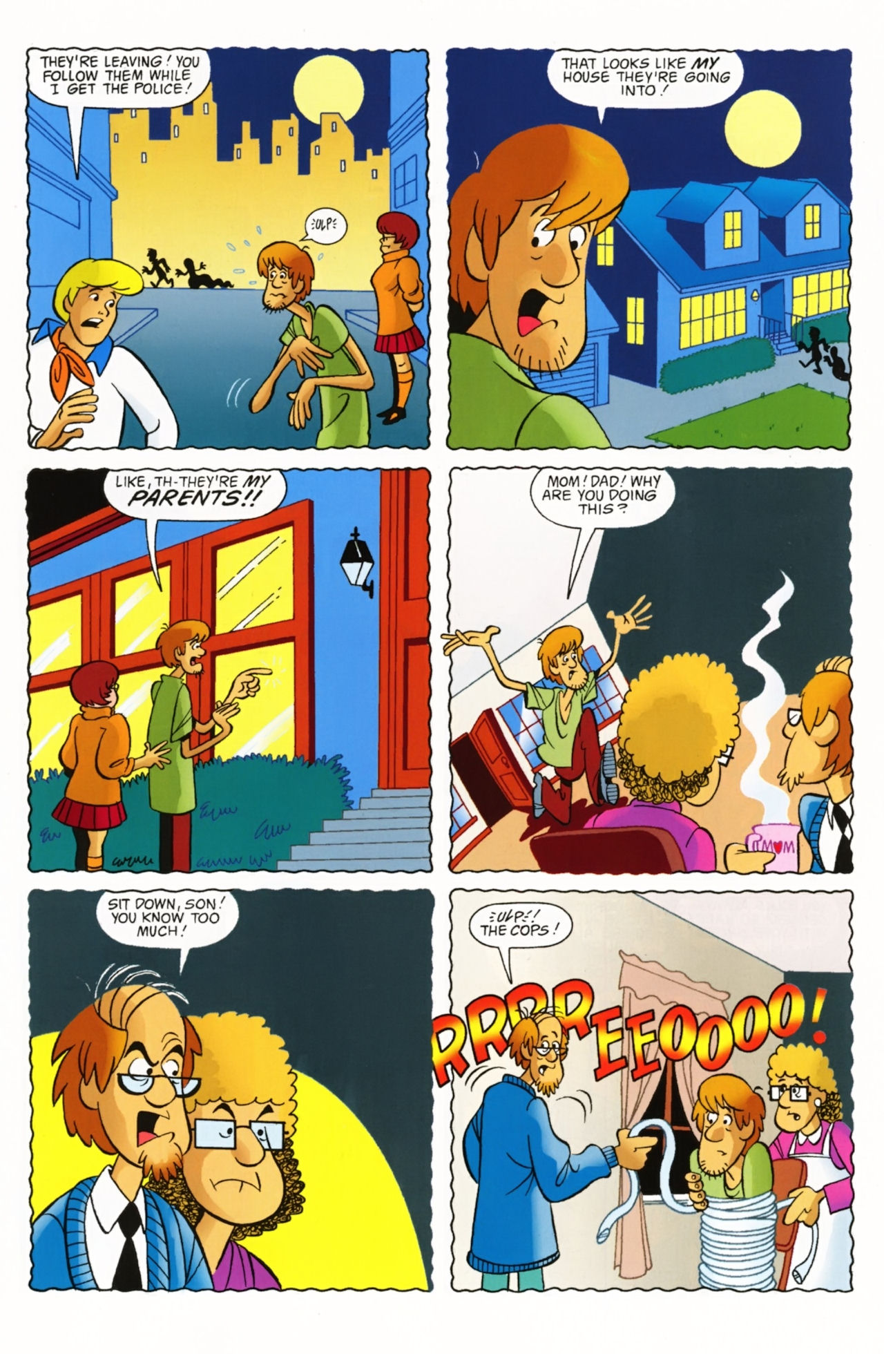 Read online Scooby-Doo: Where Are You? comic -  Issue #3 - 28