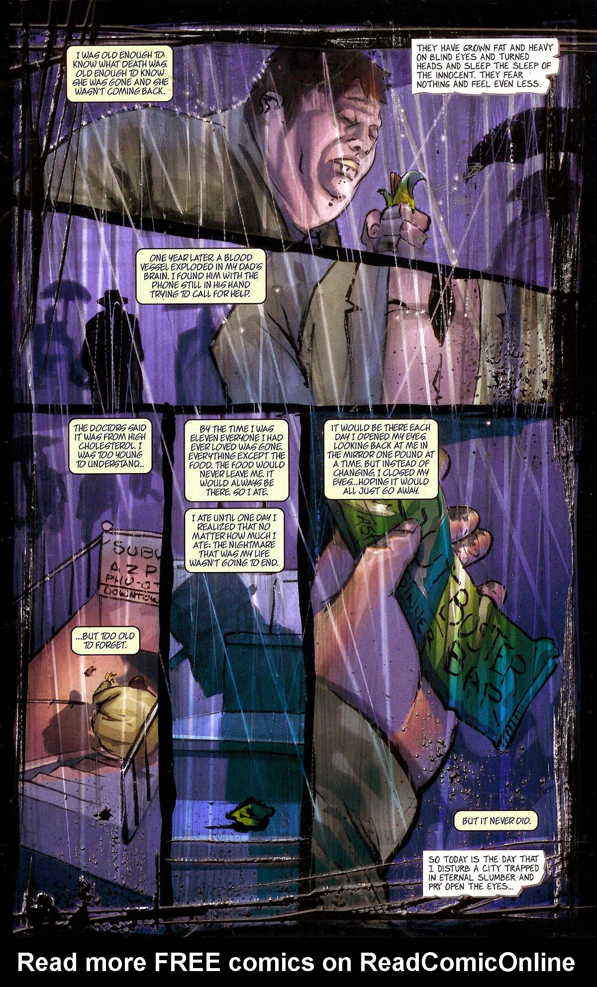 Read online Se7en comic -  Issue #1 - 14