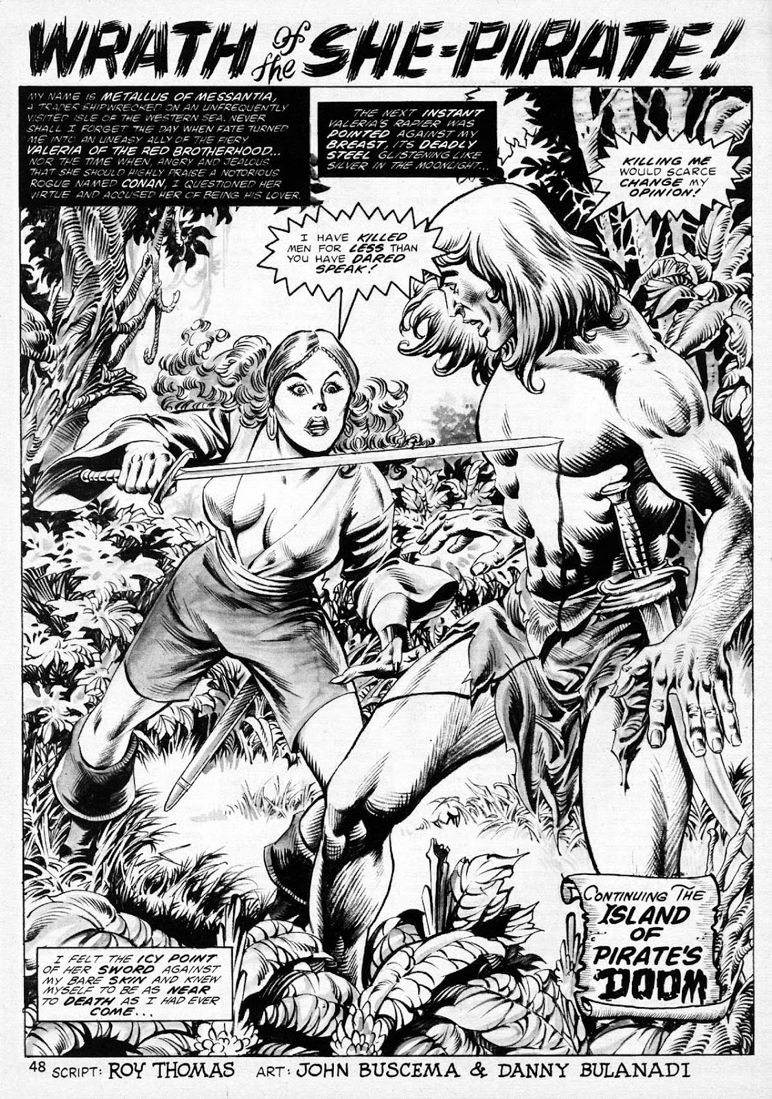 The Savage Sword Of Conan Issue #77 #78 - English 47