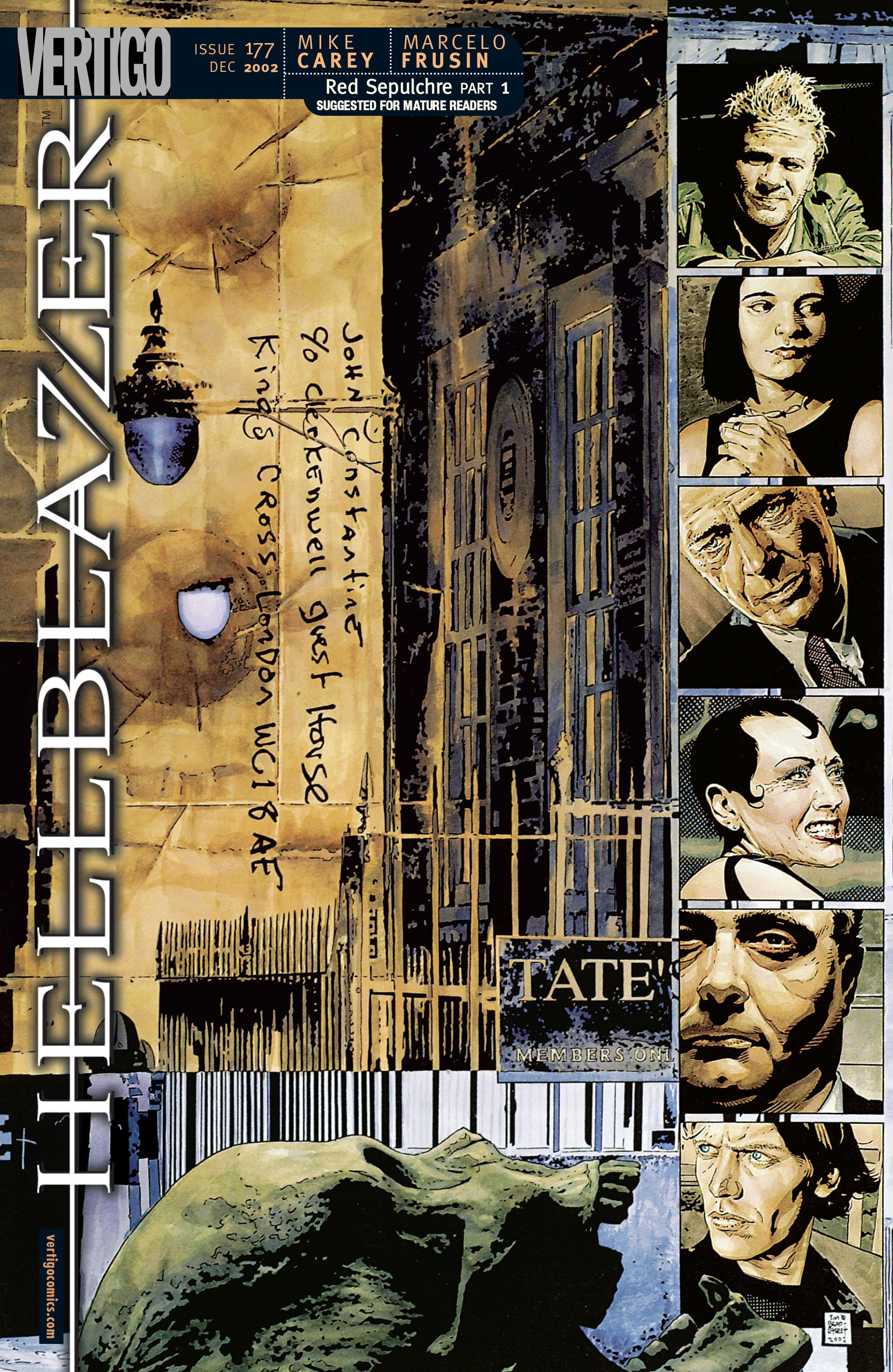 Hellblazer issue 177 - Page 1