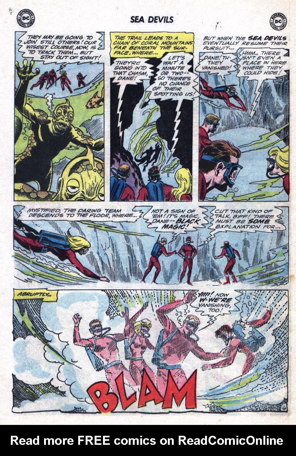 Read online Sea Devils comic -  Issue #20 - 8