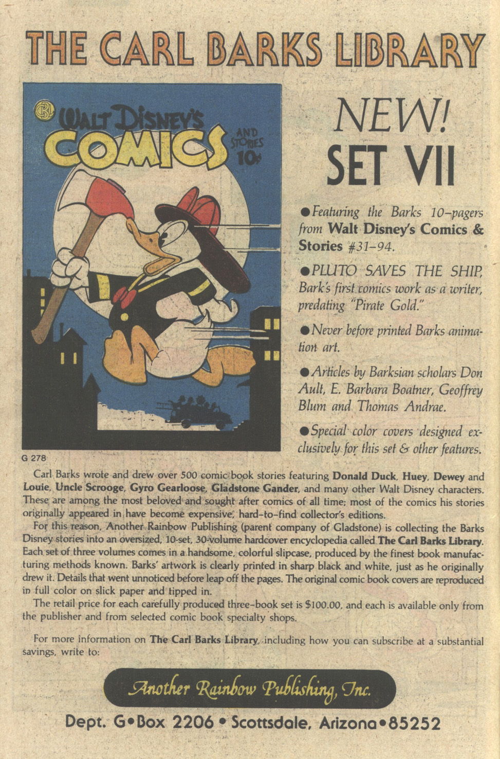 Uncle Scrooge (1953) Issue #229 #229 - English 10