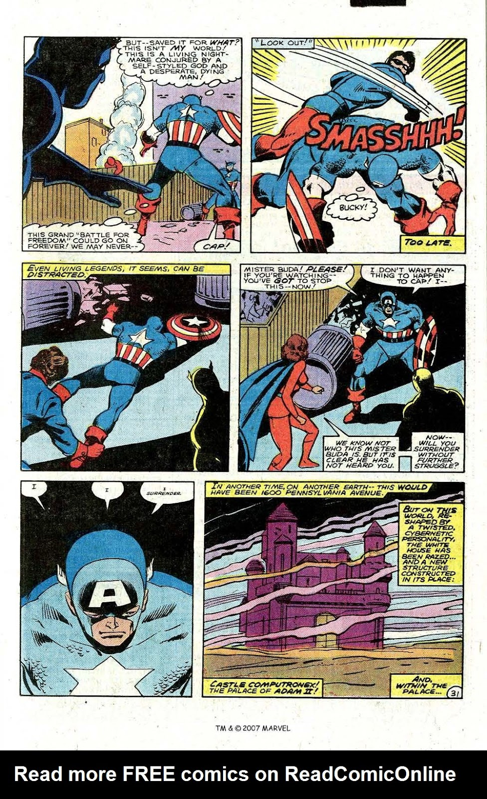 Captain America (1968) _Annual 6 #6 - English 37