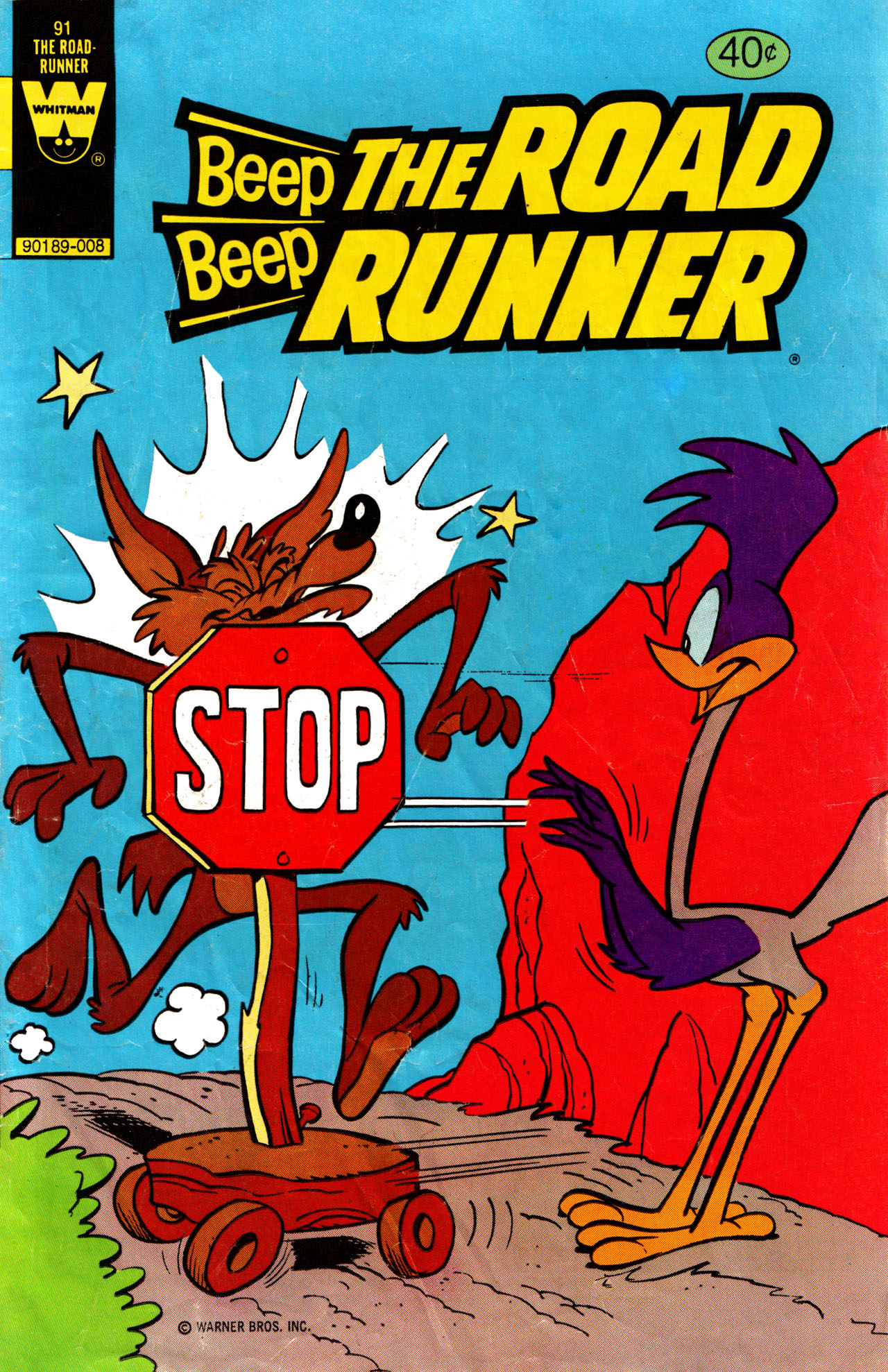 Beep Beep The Road Runner 91 Page 1