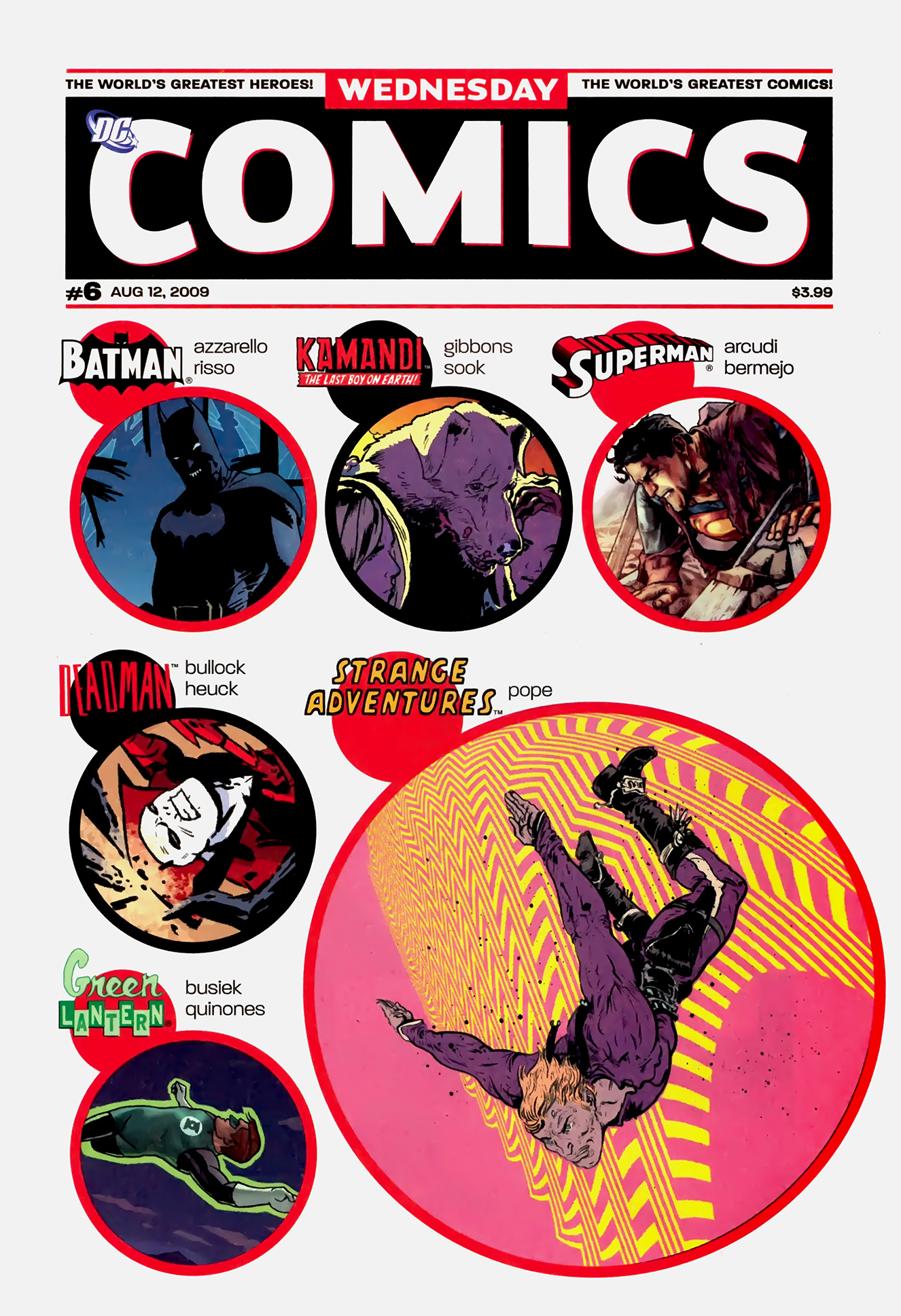 Read online Wednesday Comics comic -  Issue #6 - 1