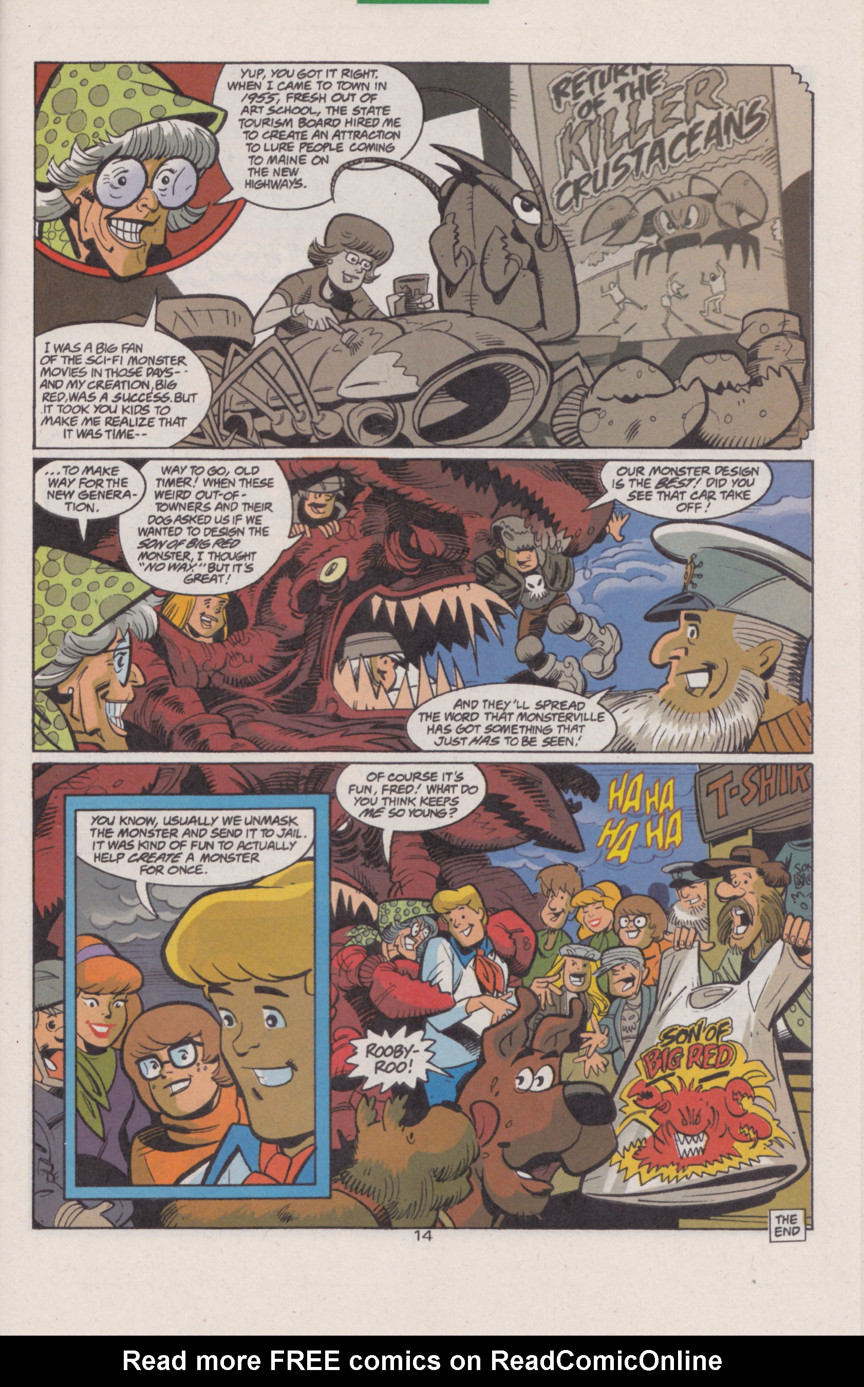 Read online Scooby-Doo (1997) comic -  Issue #13 - 15