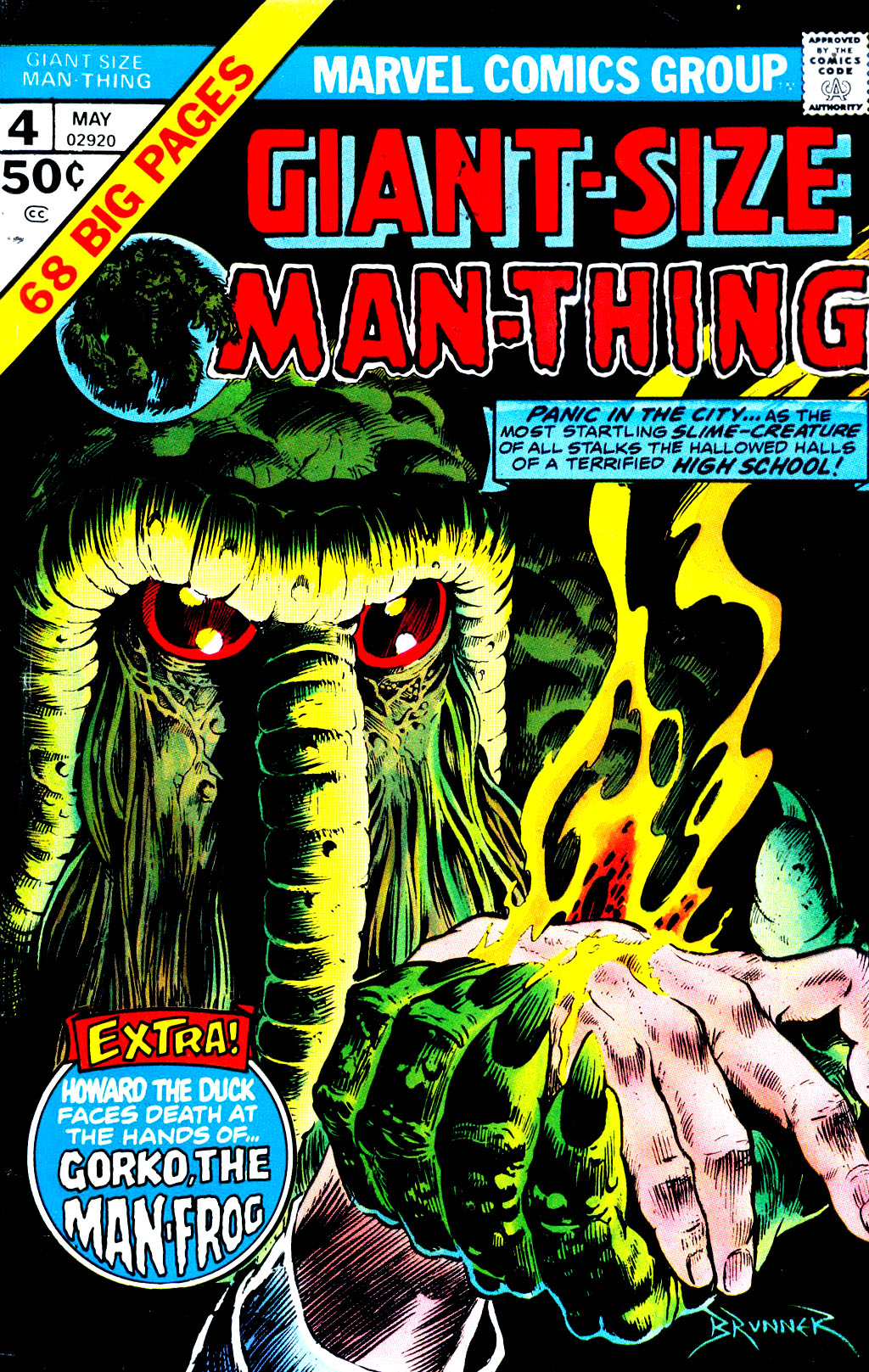 Giant-Size Man-Thing 4 Page 1