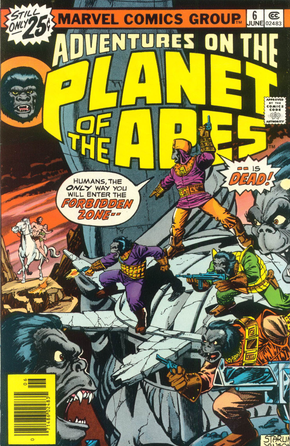 Adventures on the Planet of the Apes 6 Page 1