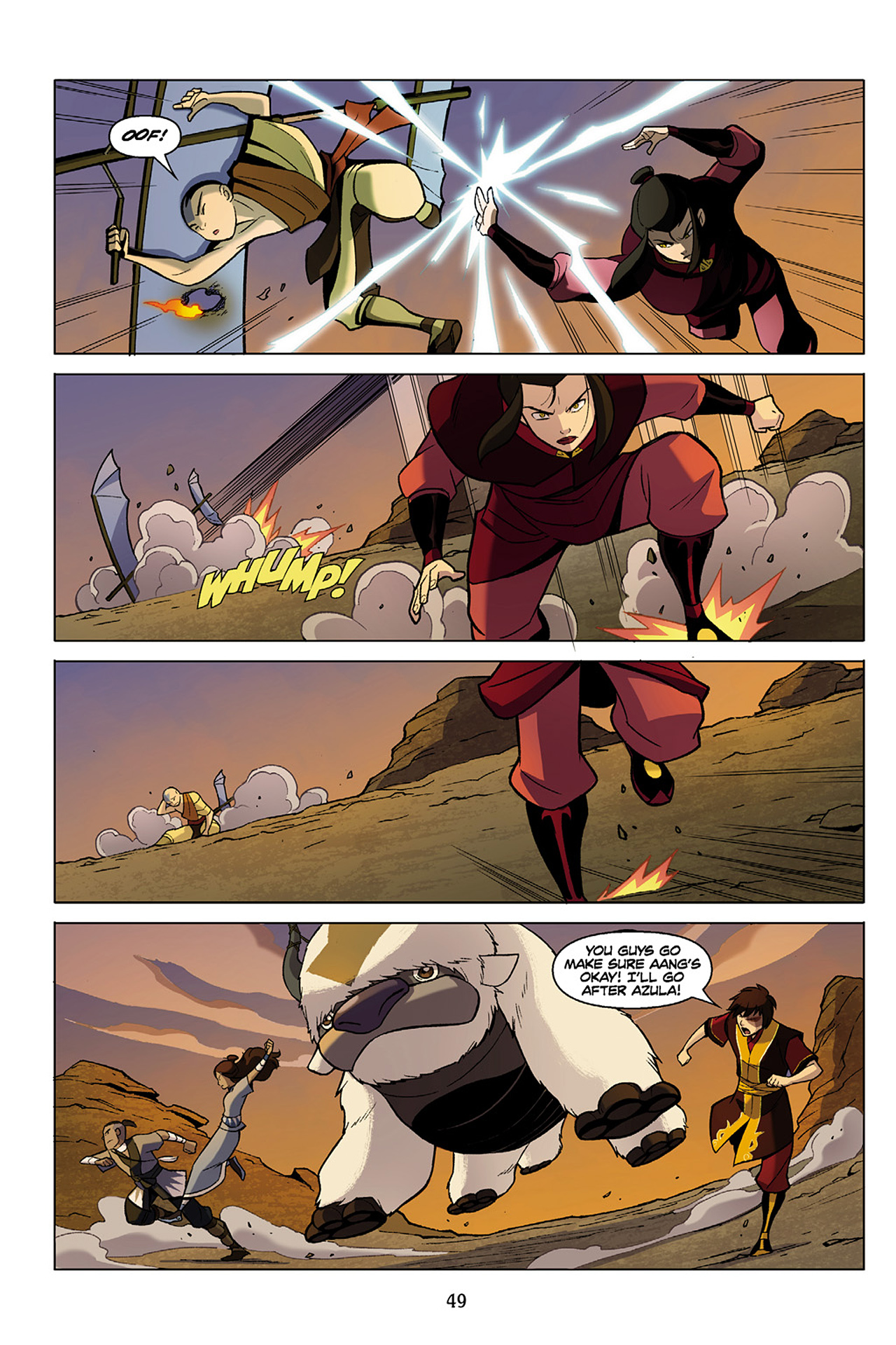 Read online Nickelodeon Avatar: The Last Airbender - The Search comic -  Issue # Part 1 - 50