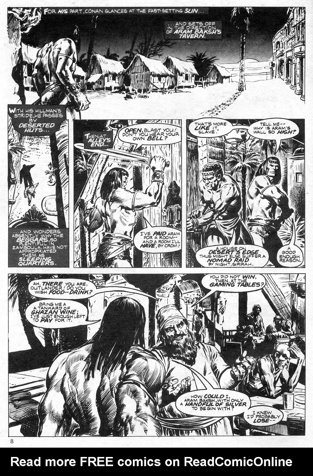 The Savage Sword Of Conan Issue #14 #15 - English 8