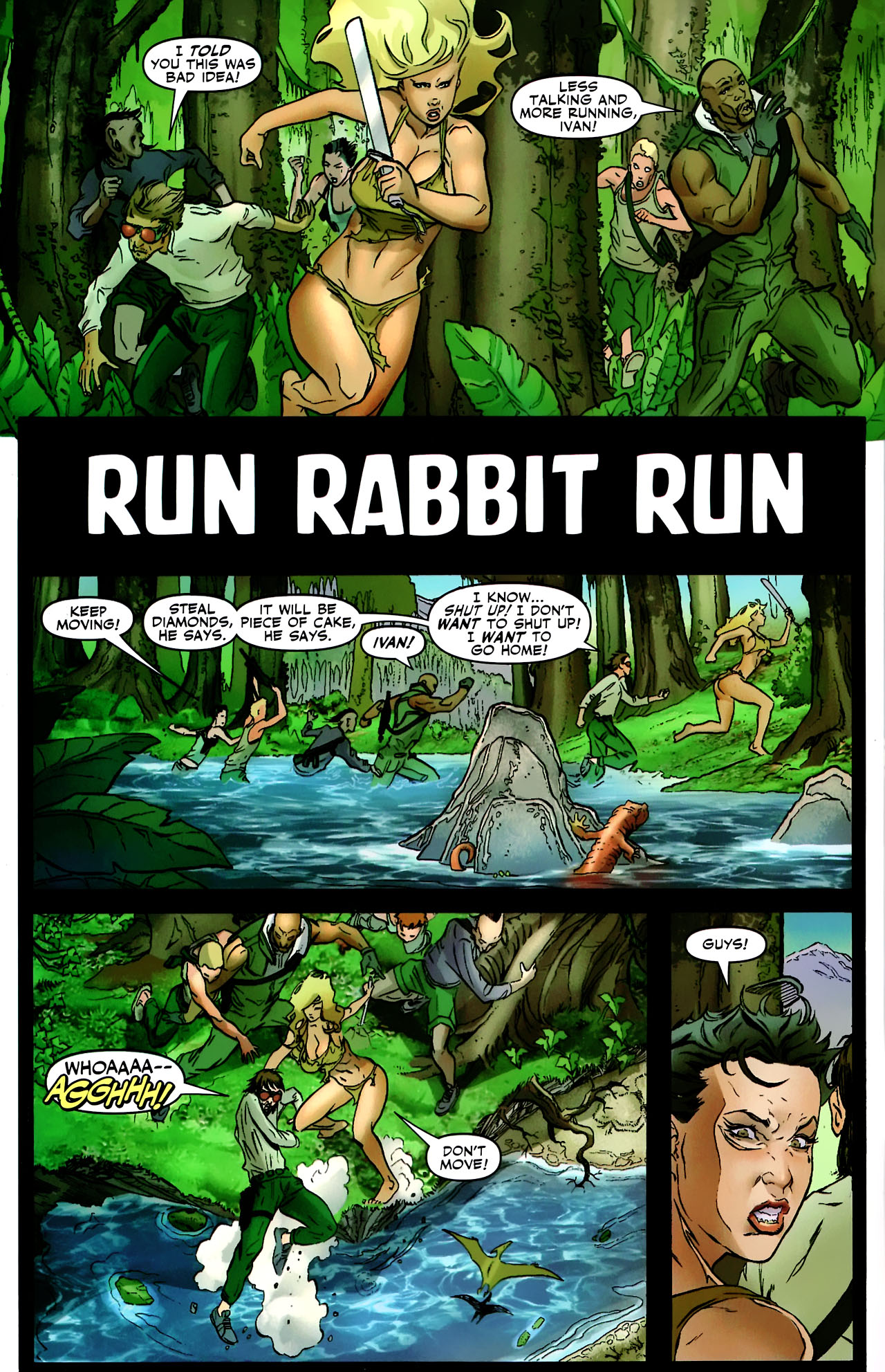 Read online Shanna the She-Devil: Survival of the Fittest comic -  Issue #2 - 3