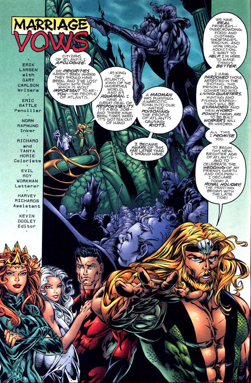 Aquaman (1994) Issue #60 #66 - English 3