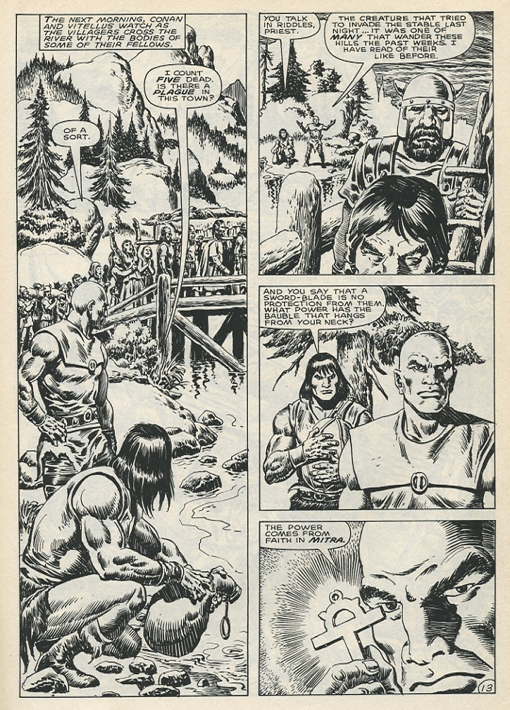 The Savage Sword Of Conan Issue #141 #142 - English 19