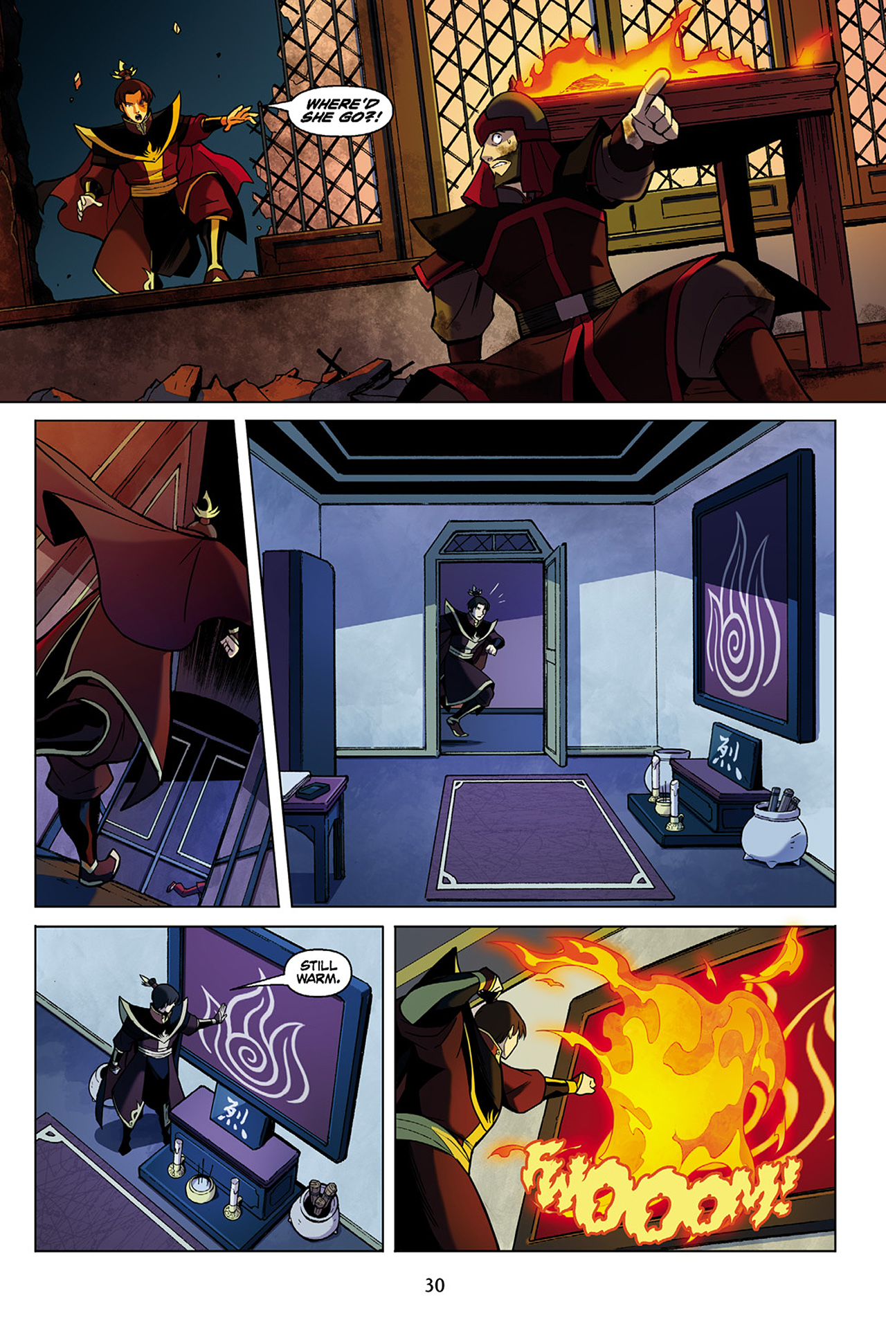 Read online Nickelodeon Avatar: The Last Airbender - The Search comic -  Issue # Part 1 - 31