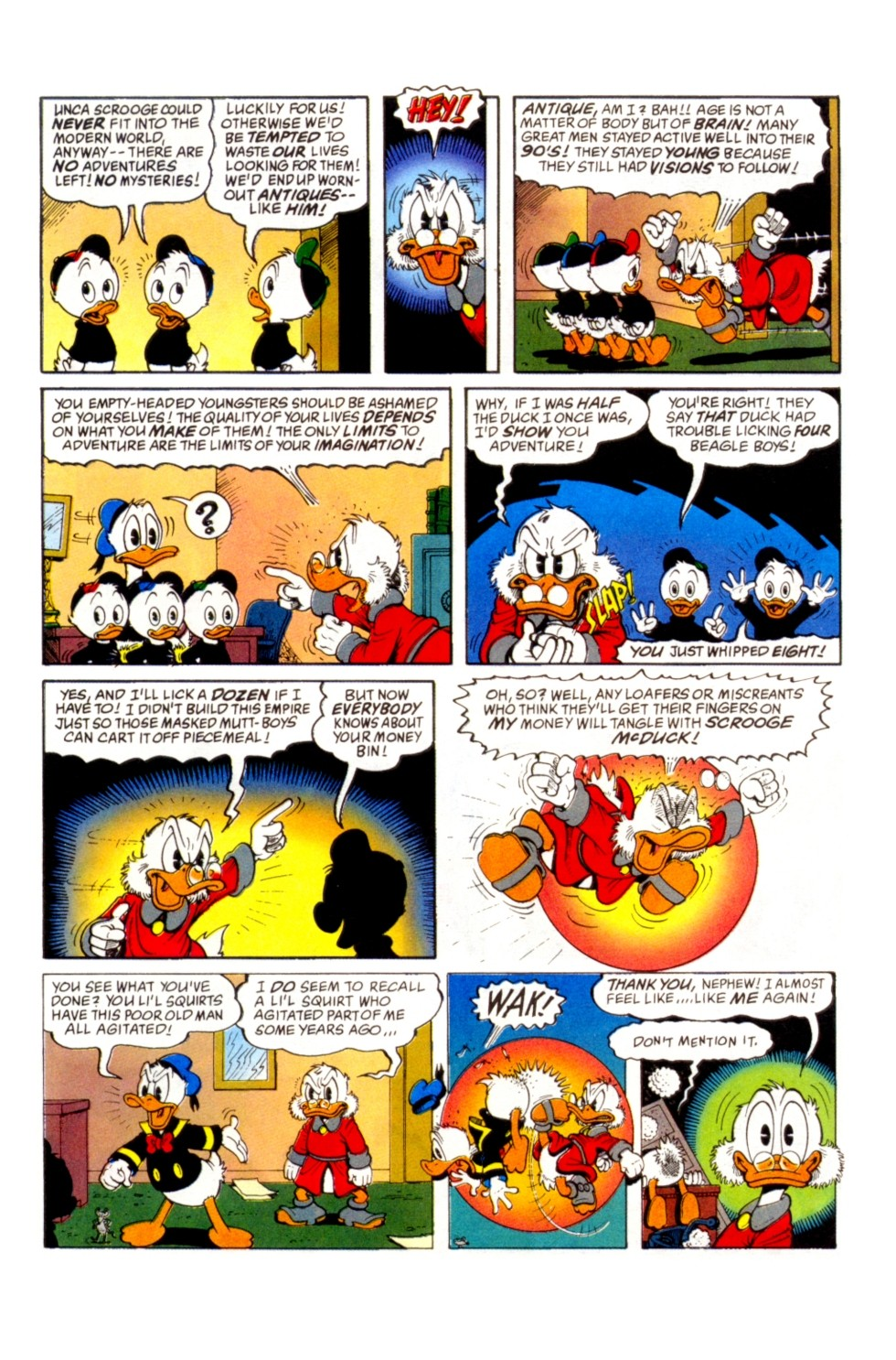 Uncle Scrooge (1953) Issue #296 #296 - English 18