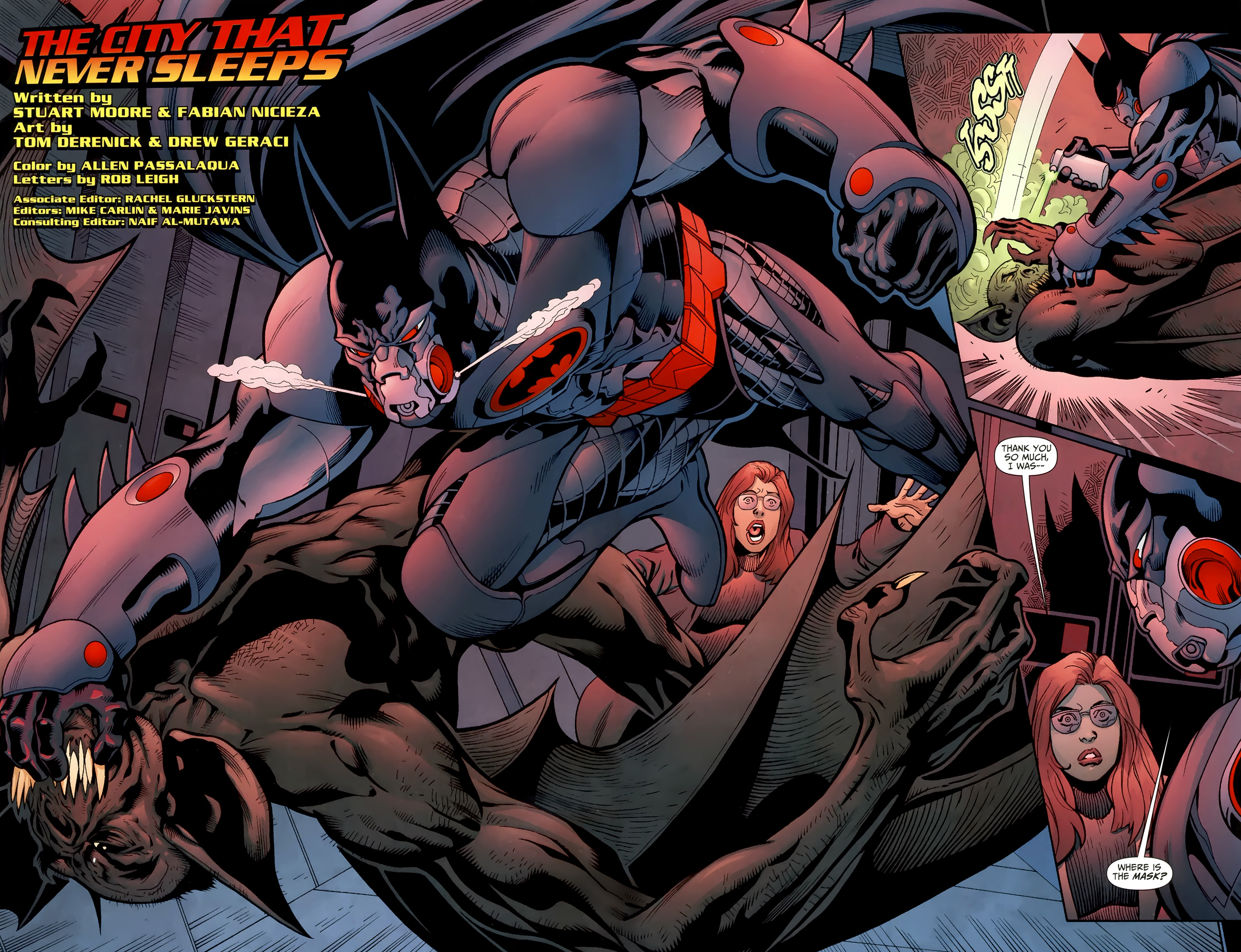Read online Justice League of America/The 99 comic -  Issue #4 - 3